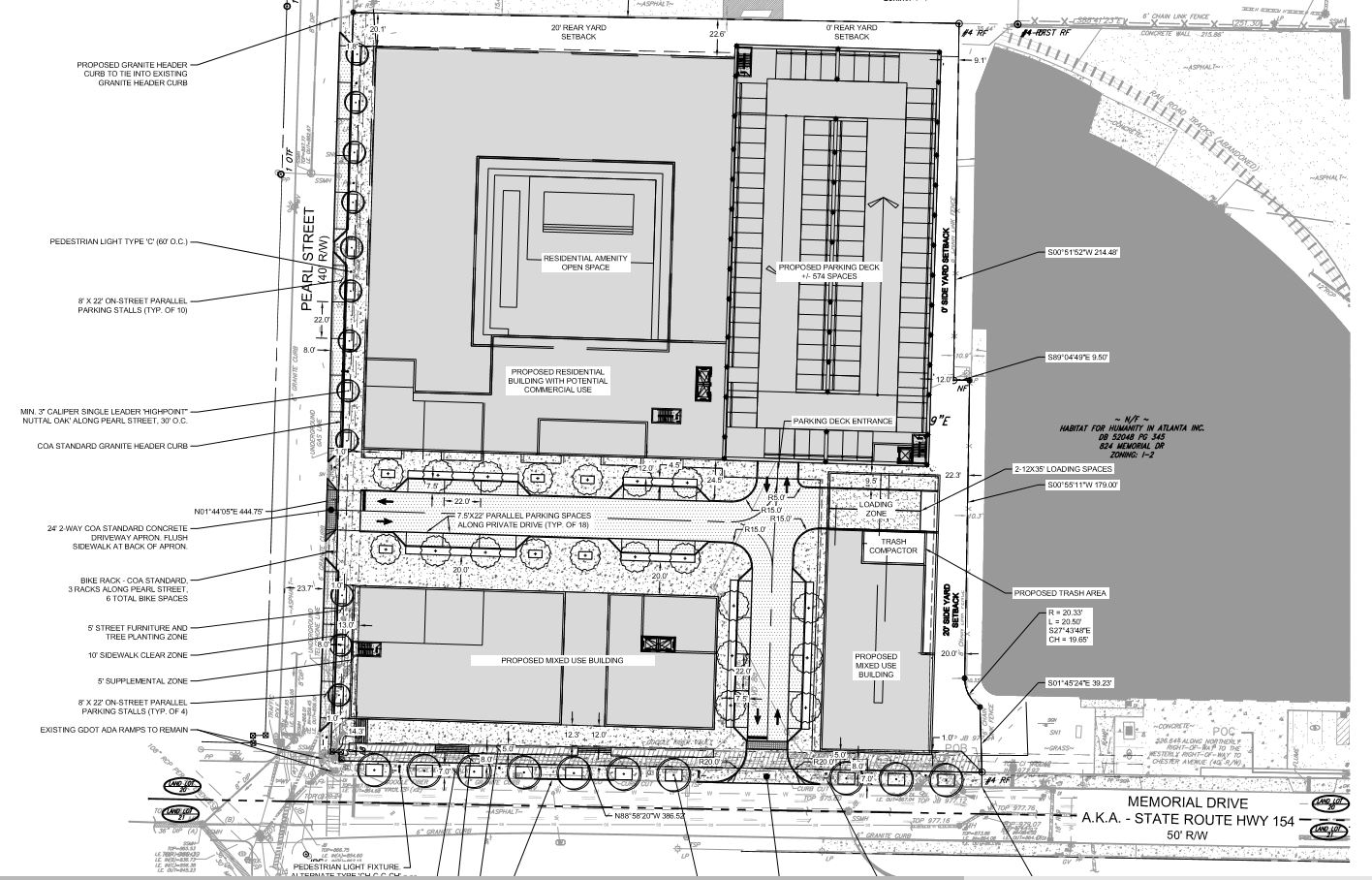 100 Residential Site Plan Residential Campus