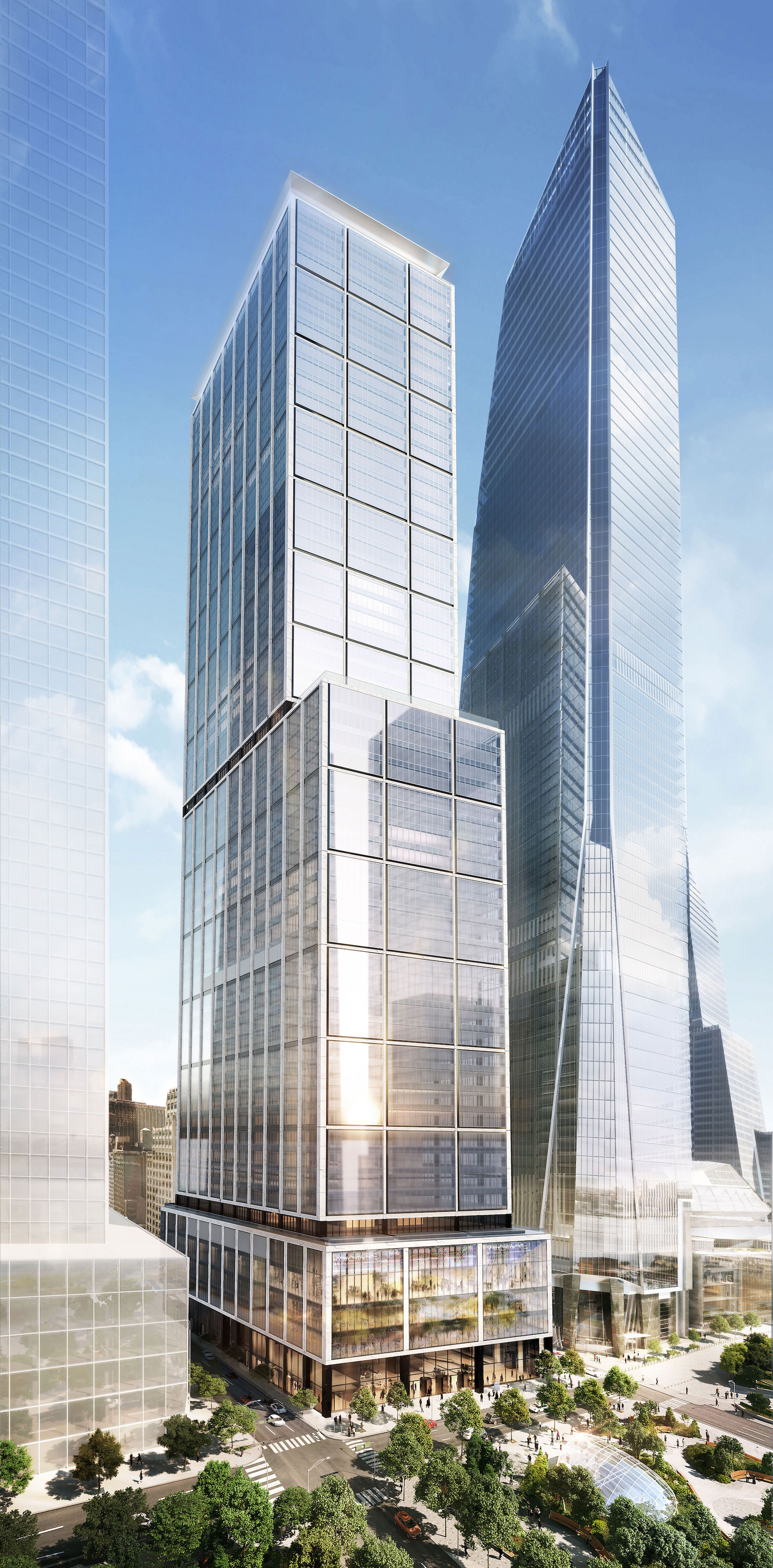 foster + partners will design 985-foot hudson yards skyscraper