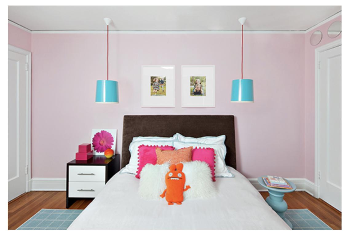 Paint colors for bedrooms pink - Light Pink Girl S Bedroom