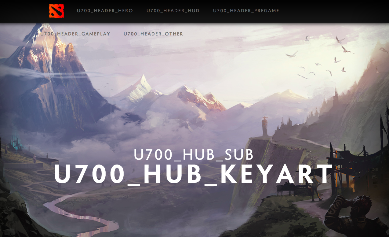 dota 2 s 7 00 update announcement breaks dota 2 s official site
