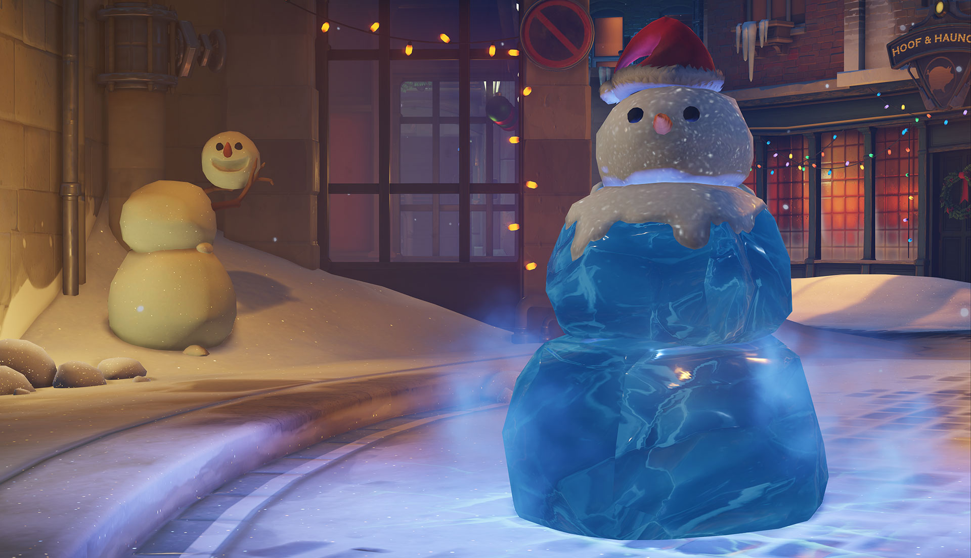 Overwatch winter event brings holiday jeers over Mei's new skin ...