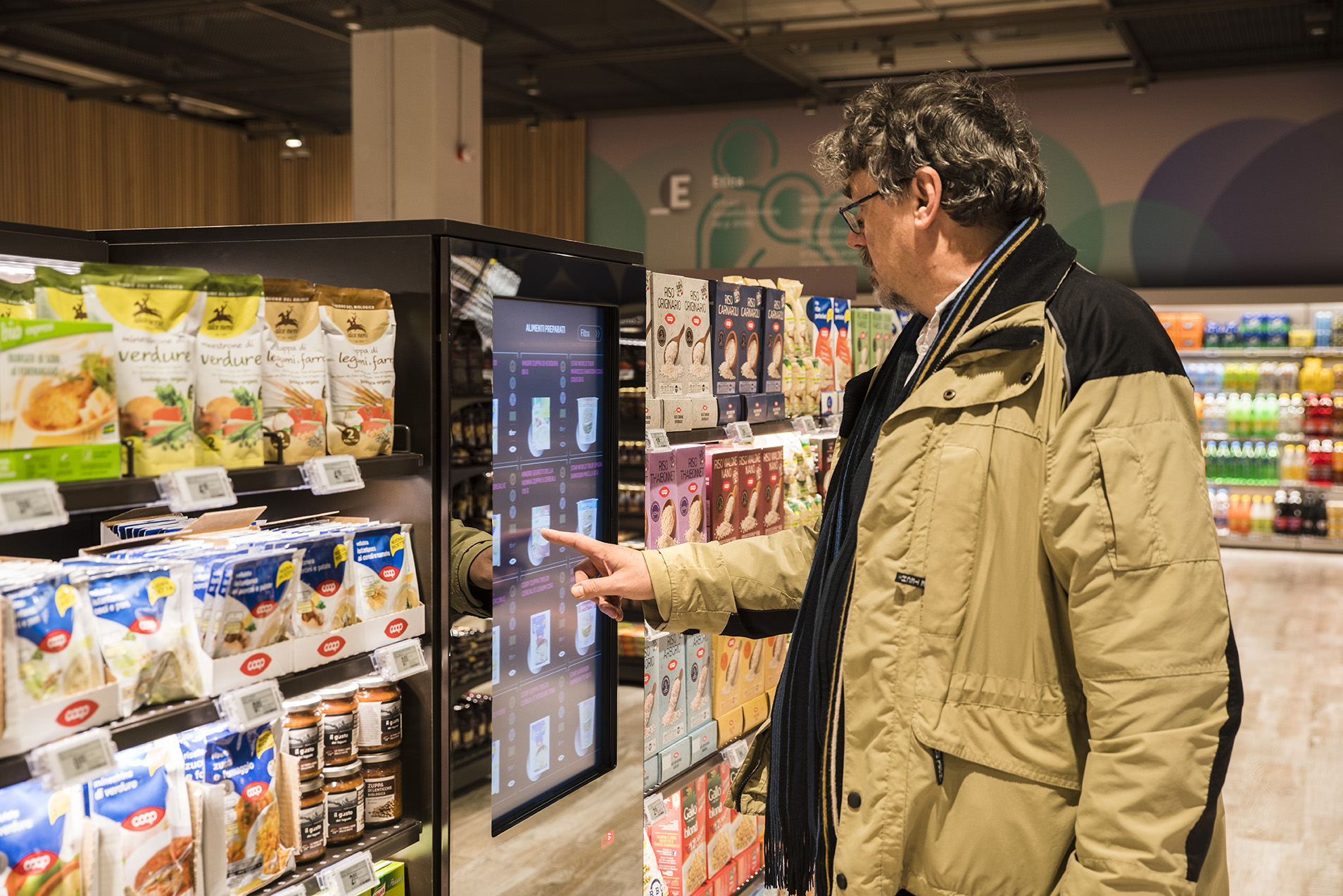 'Supermarket of the Future,' with augmented reality, opens in Milan