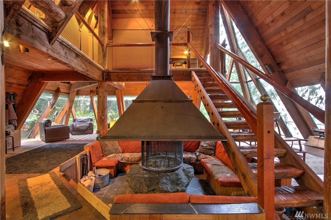 Pyramid Shaped 70s Cabin Offers Funky Retreat For 400k