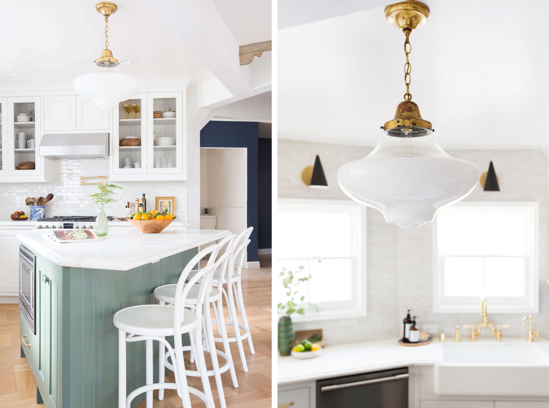 Blogger Emily Henderson s sunny kitchen transformation revealed