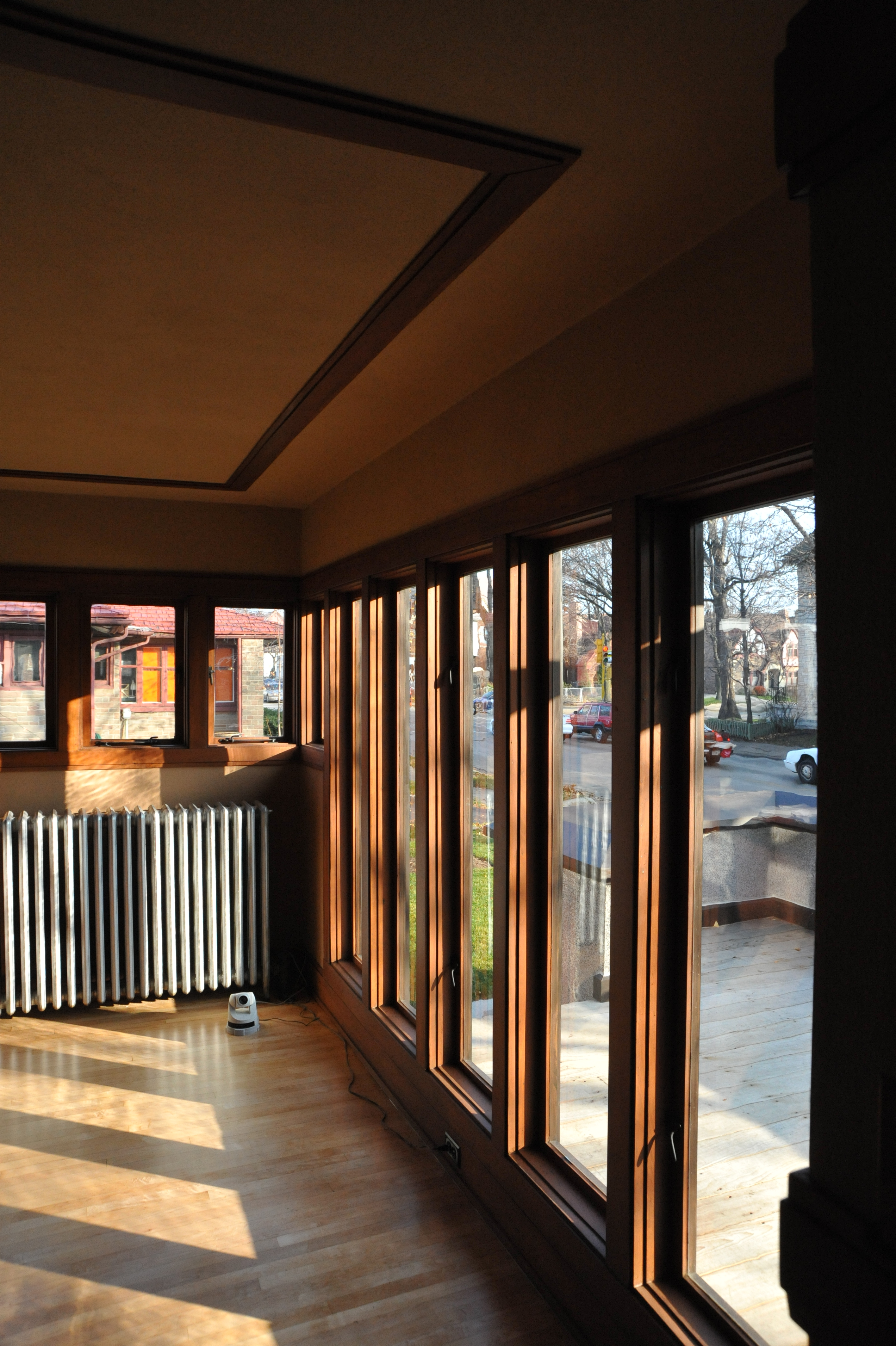 frank lloyd wright s forgotten prefabs curbed interior of the model b1 american system built home