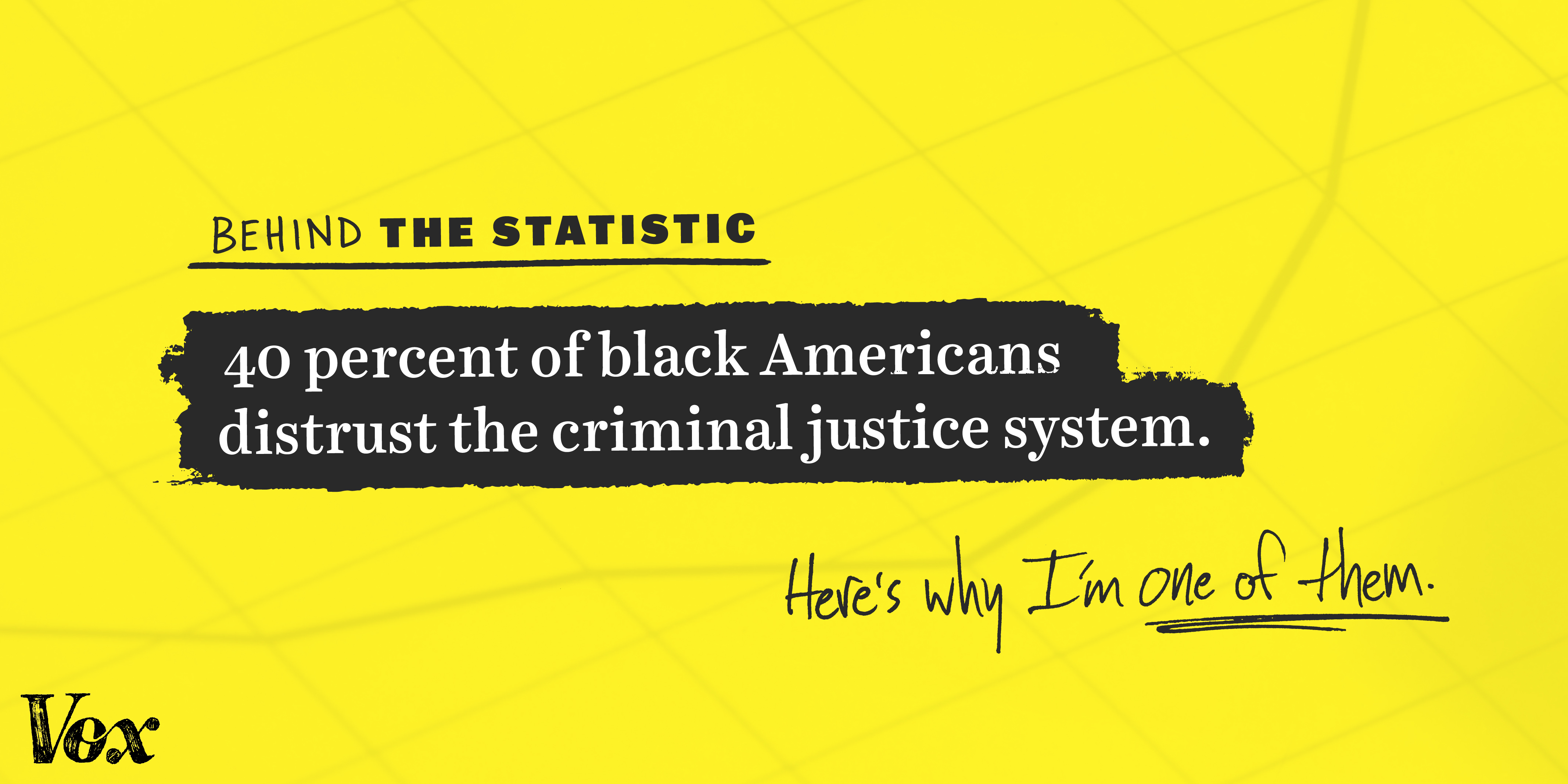 40 percent of black Americans distrust the criminal justice system: Why I'm one of them