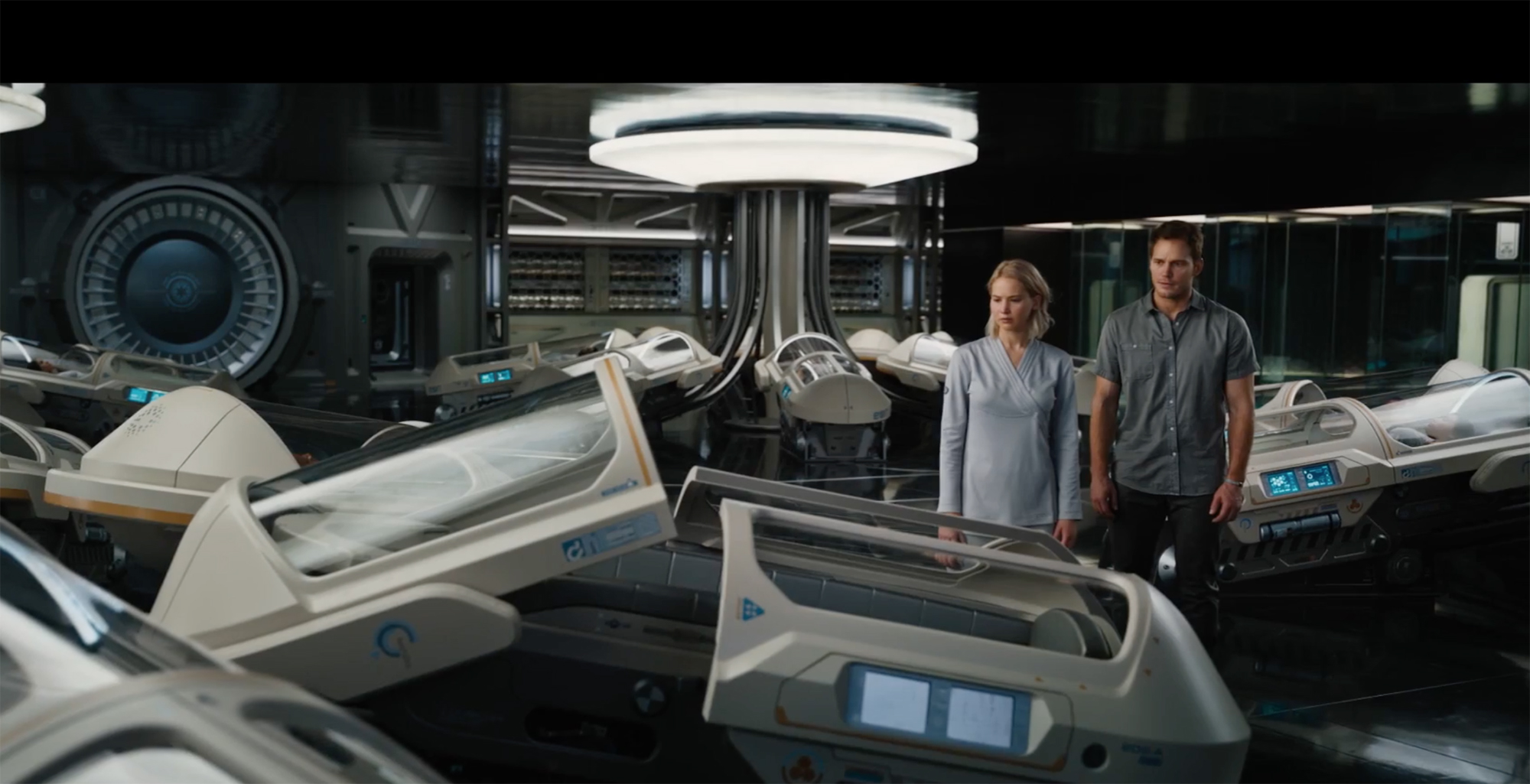 Passengers is 3 movies in one each creepier than the last for Passengers spaceship