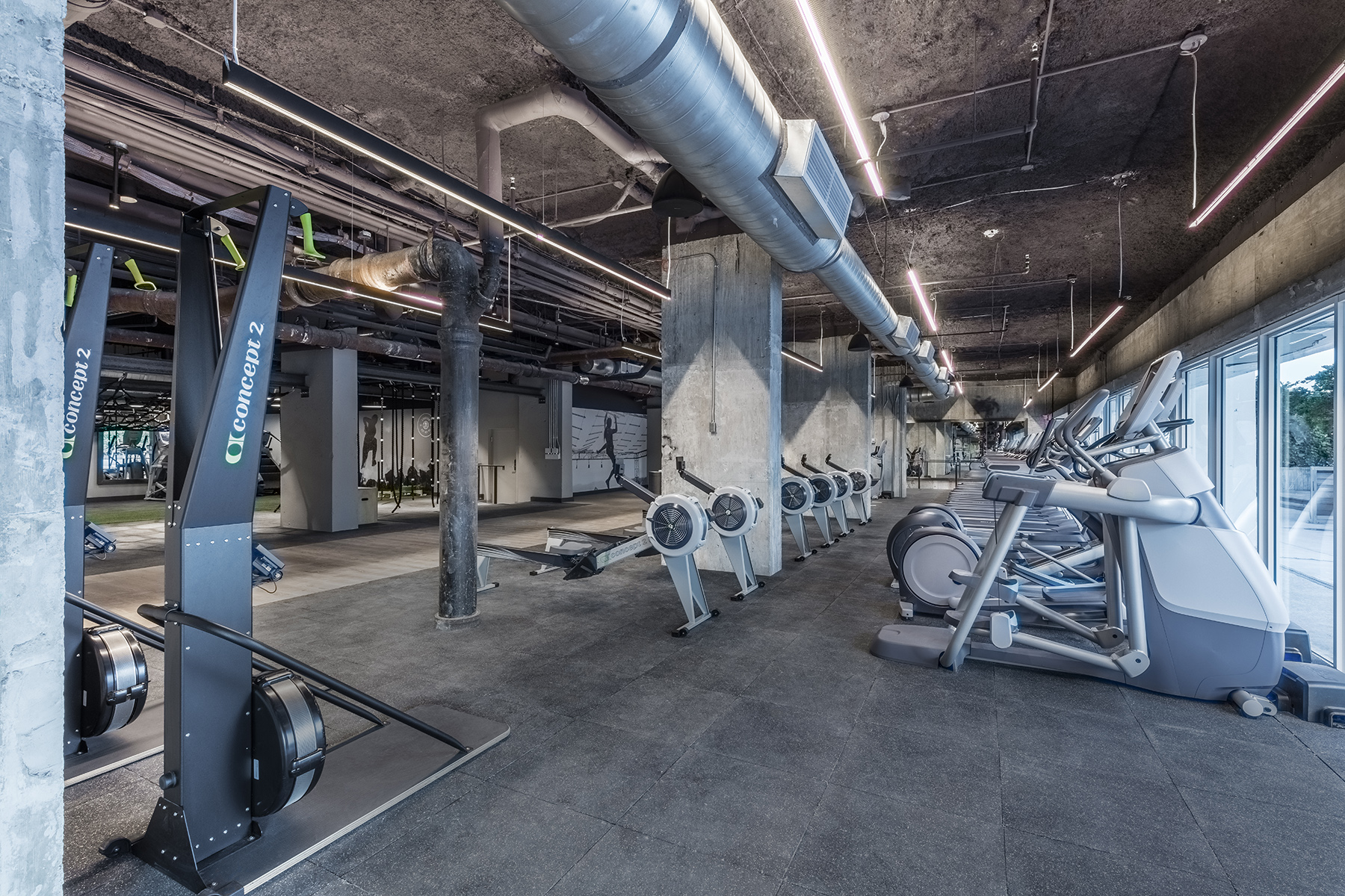 Tour 1 Hotel South Beach S New Spartan Gym Curbed Miami