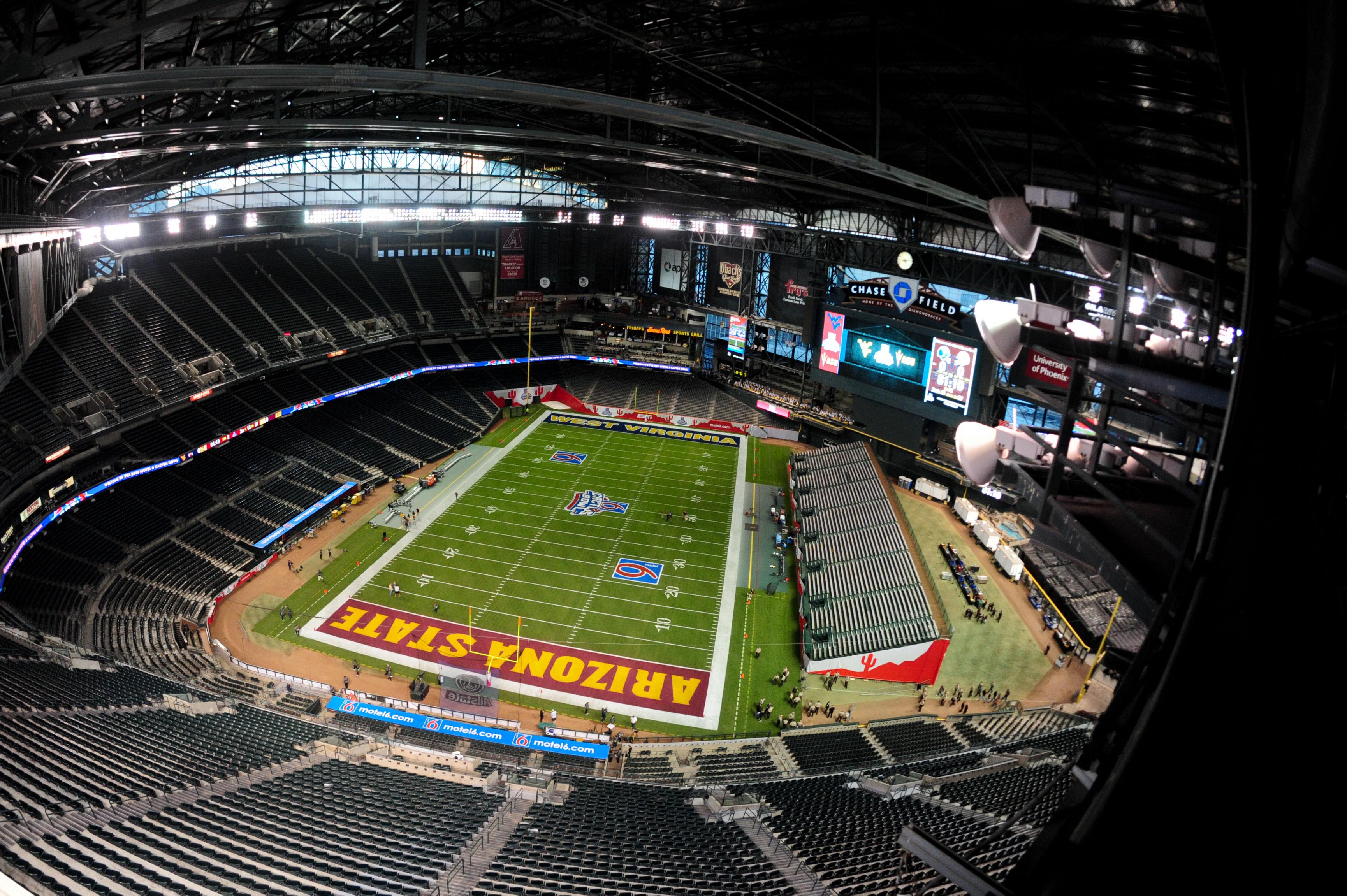 How college football bowl games fit in 4 different Major ...