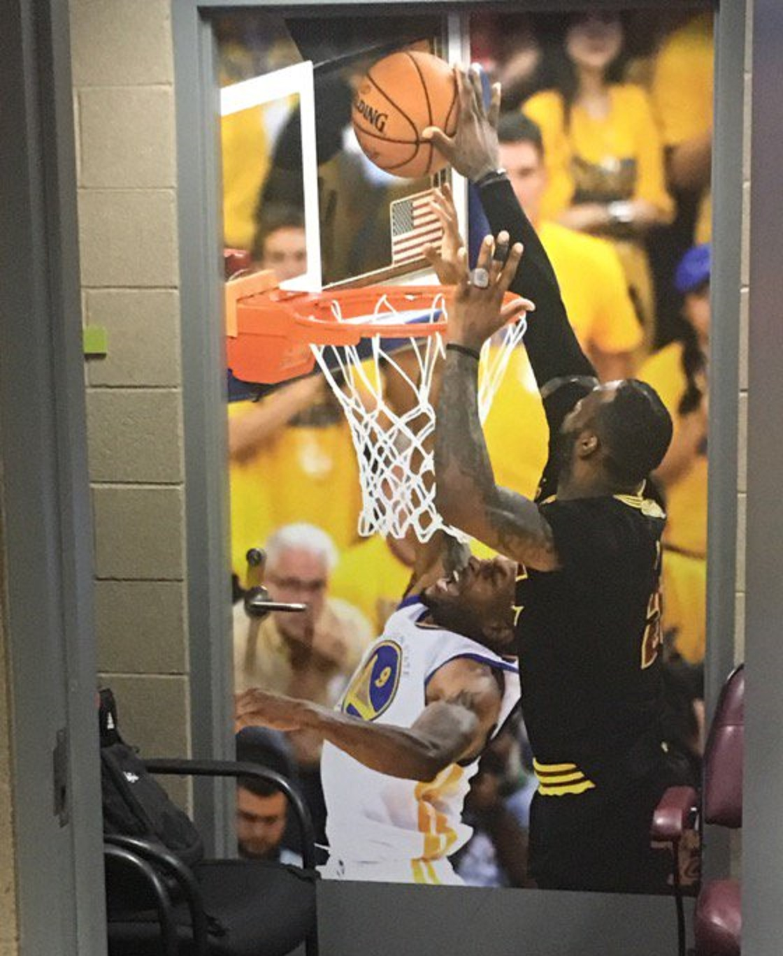 Cavaliers Hung Photo Of Lebron James' Gamesealing Finals. Cool Bedroom Decor. Rooms For Rent In Clearwater Fl. Interior Decorating Certificate Programs Online. Outdoor Beach Decor Ideas. Decorated Gourmet Cookies. Sink For Laundry Room. Narrow Dining Room Tables. Decorative Outside Corner Molding