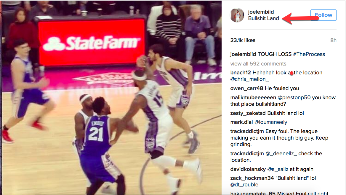DeMarcus Cousins and Joel Embiid have a beautiful big man bromance going