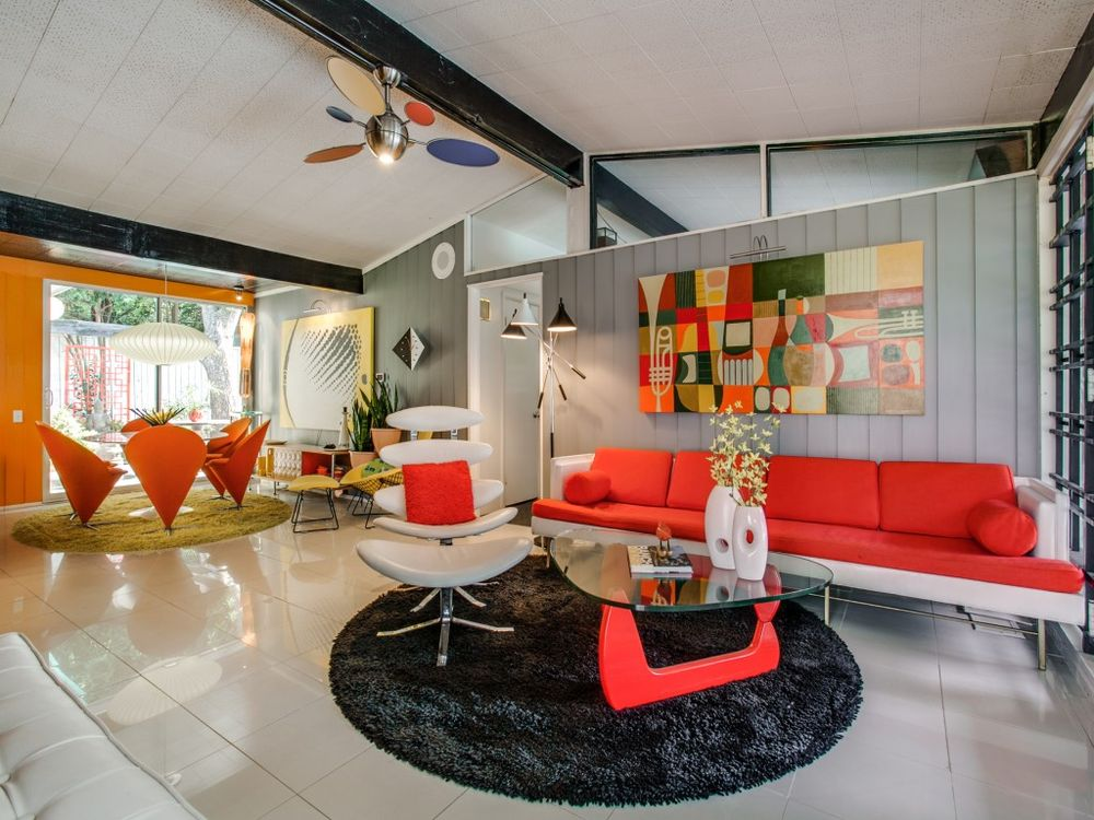designed homes. A swell time capsule in Dallas  Texas 10 most stunning midcentury homes for sale 2016 Curbed