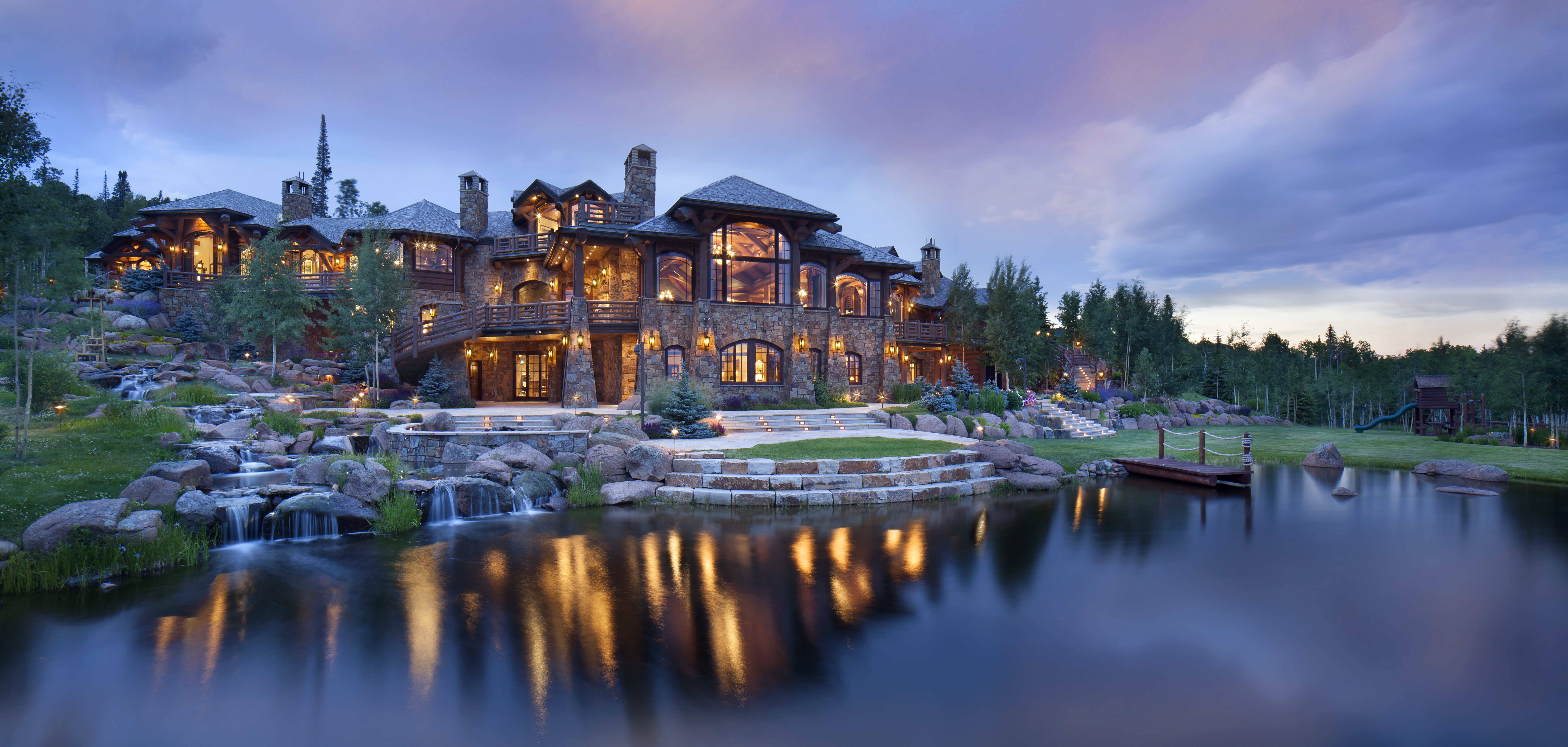 massive colorado mountain ranch with everything you need asks
