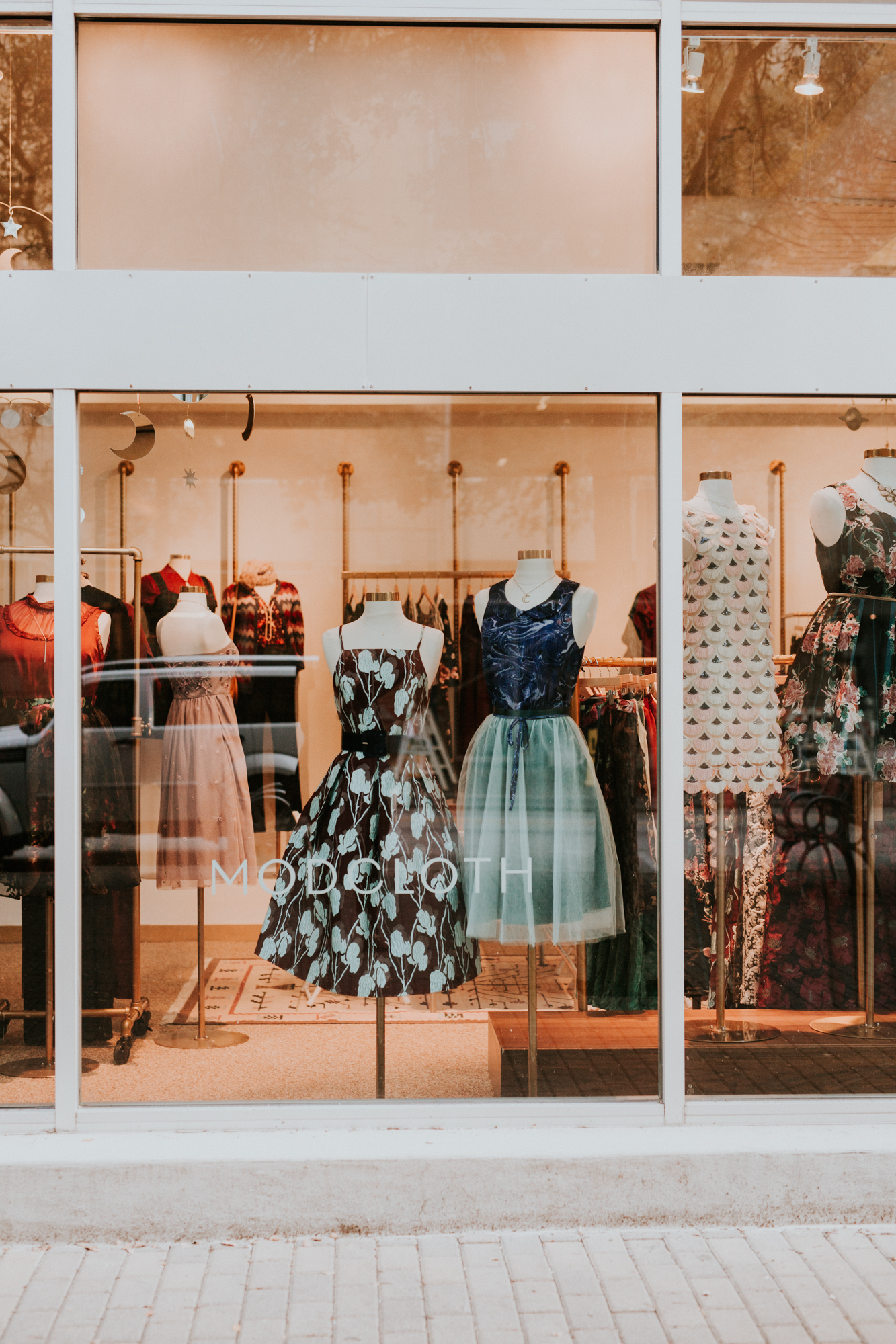 Walmart-owned ModCloth is opening stores across the country. Unlike at a traditional retailer, the store will allow shoppers to try on a full range of sizes, which they can then order online.