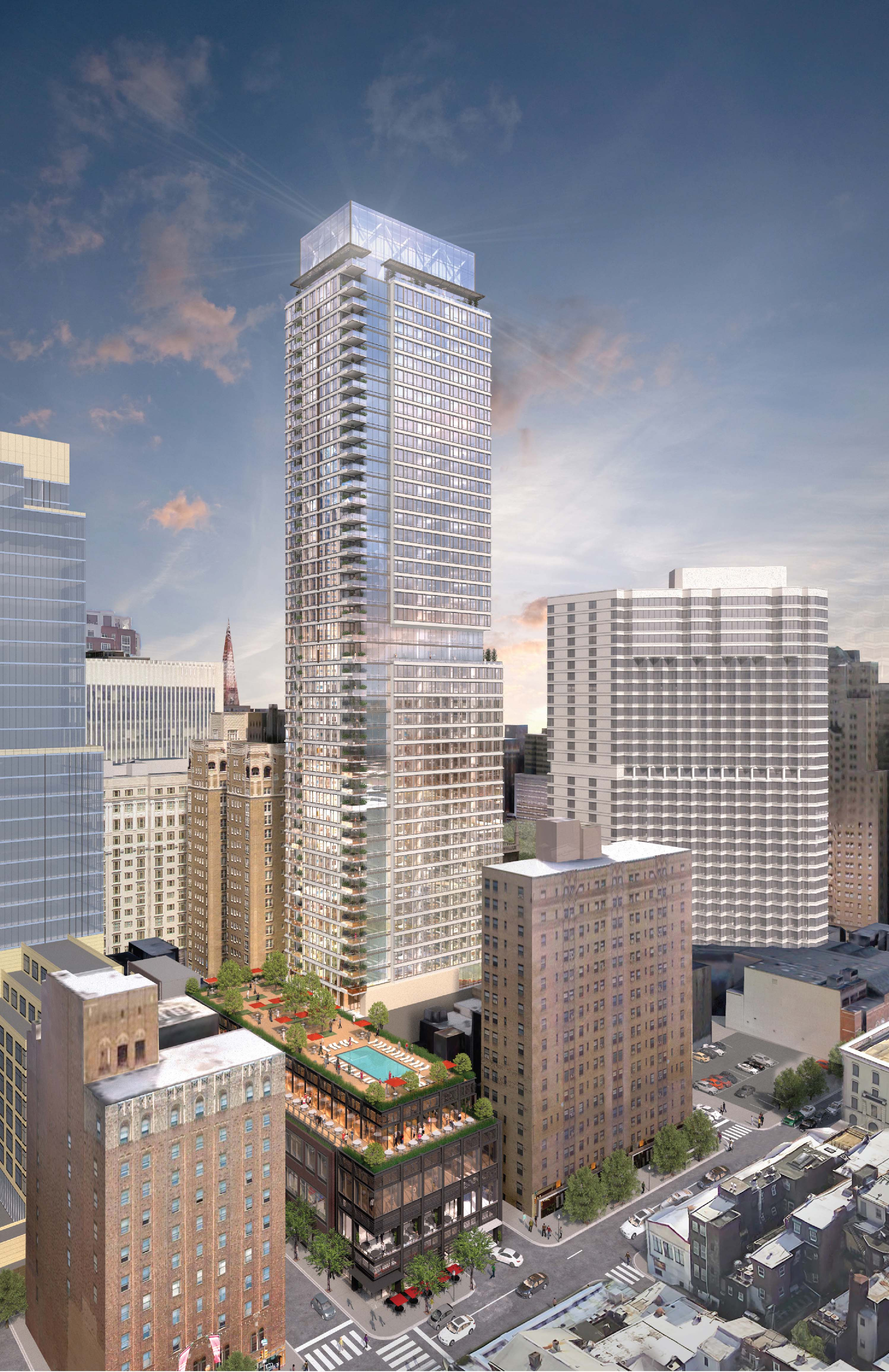 new 1911 walnut plans reveal shorter tower low income housing