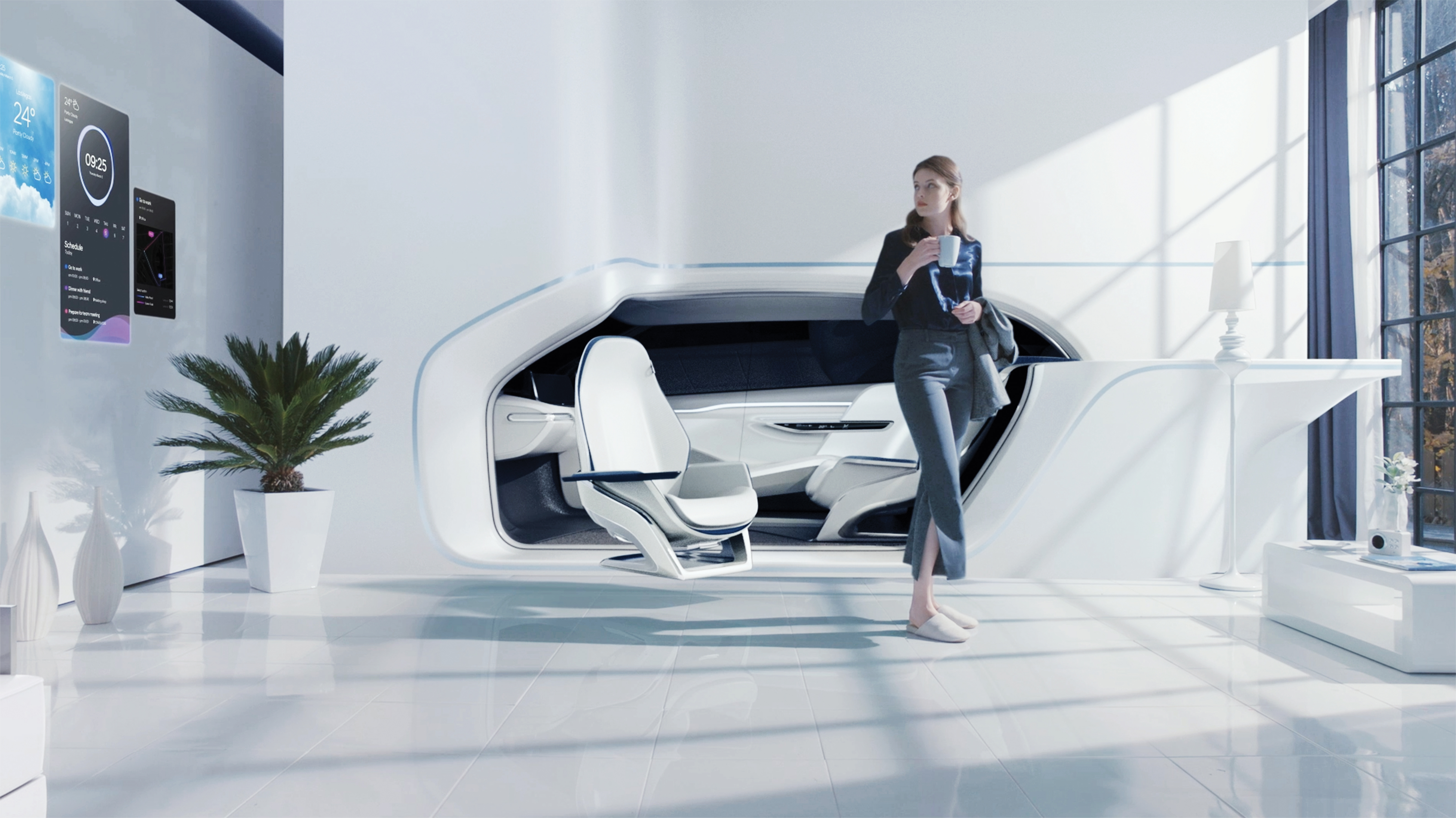 Hyundai envisions a future where your smart home is your driverless car   and vice versa. Hyundai envisions a future where your smart home is your