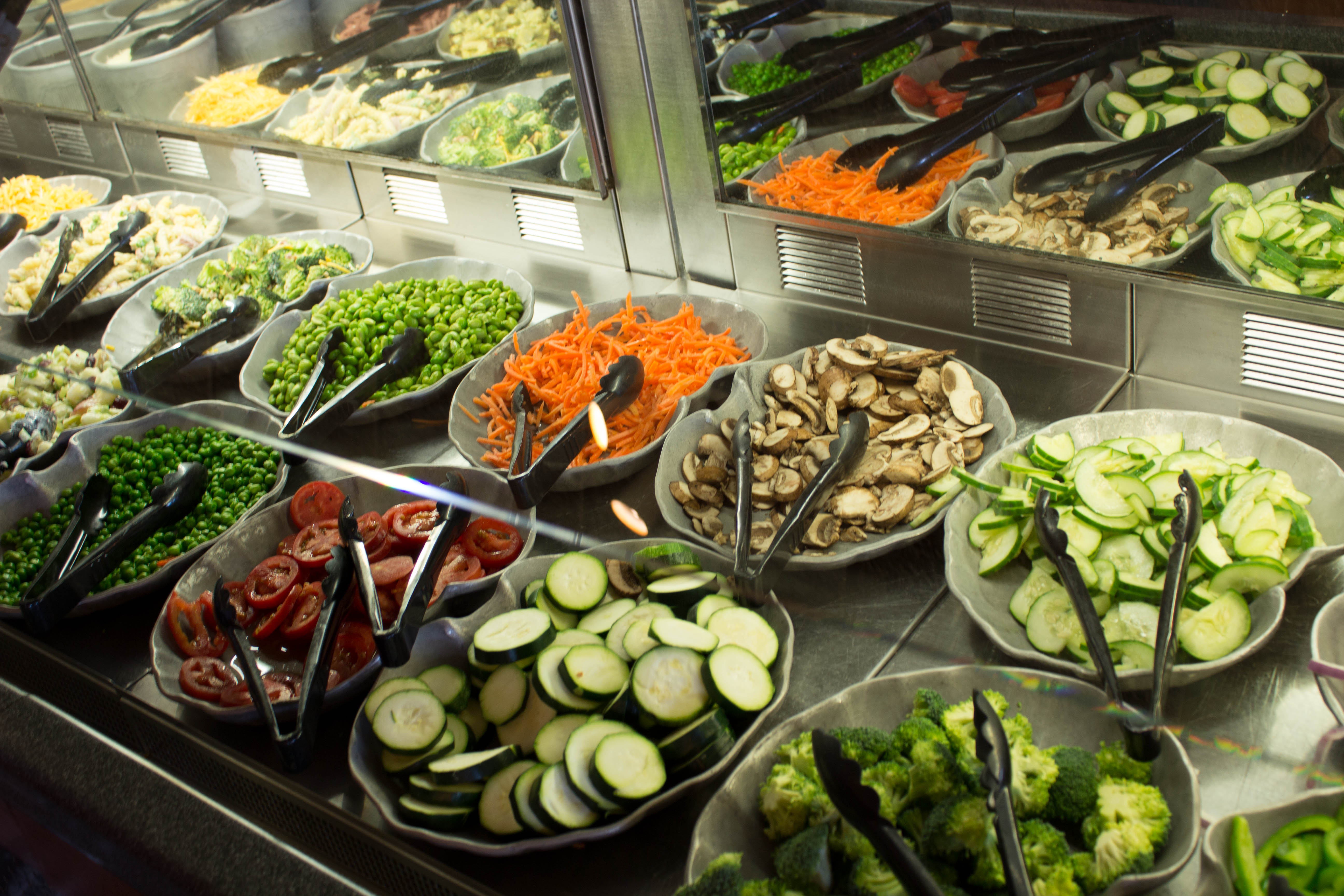 The Beauty And Bounty Of Steakhouse Salad Bar Eater