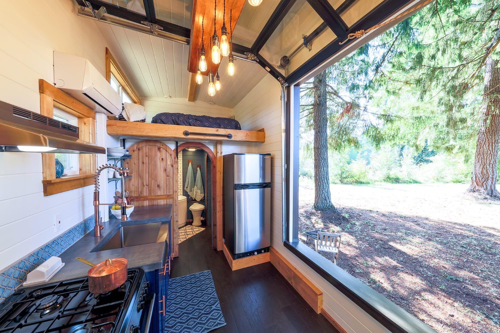 Tiny House Doubles As Rock Climbing Gym Curbed - Couple takes tiny house big adventure