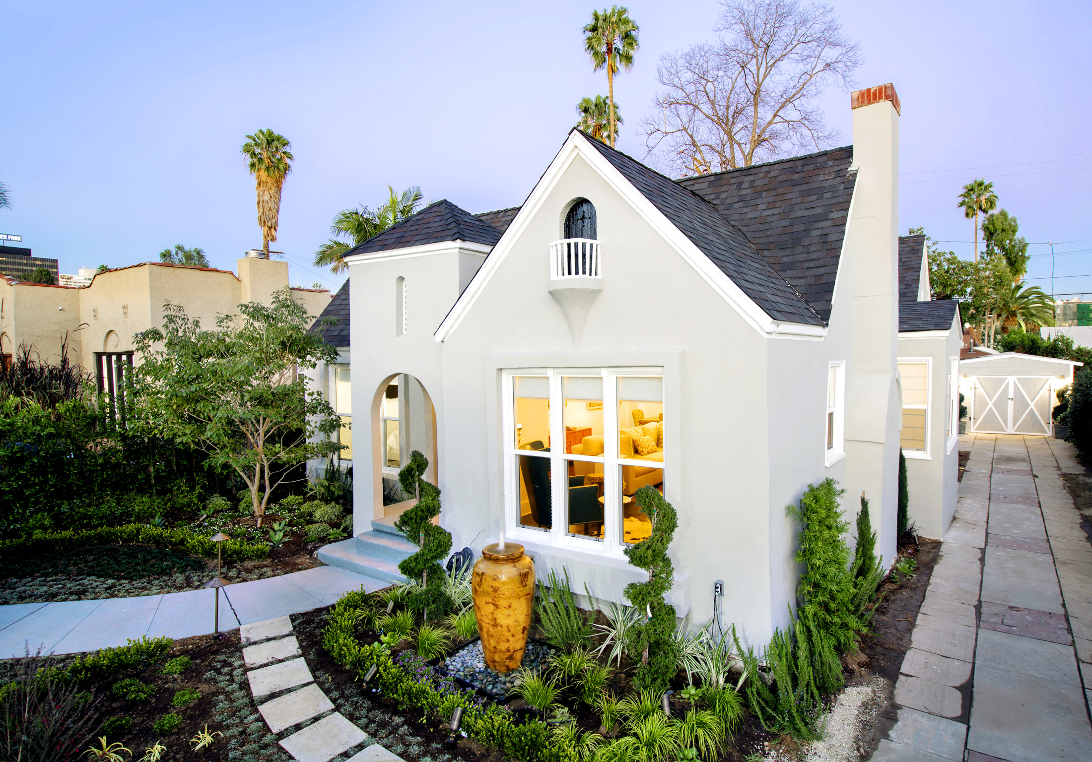 Elegant hollywood house behind jim henson company lot asks for Cottages in los angeles