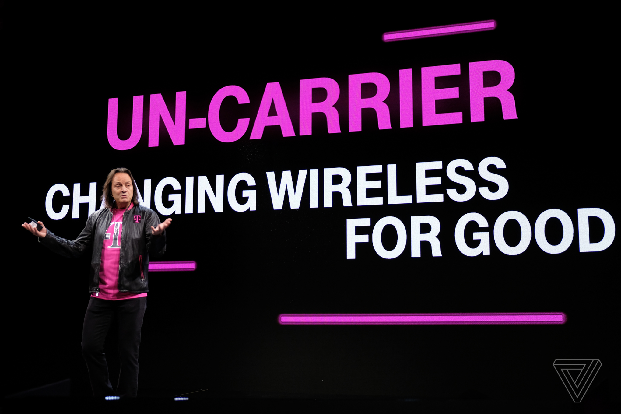 John Legere 2017 stock