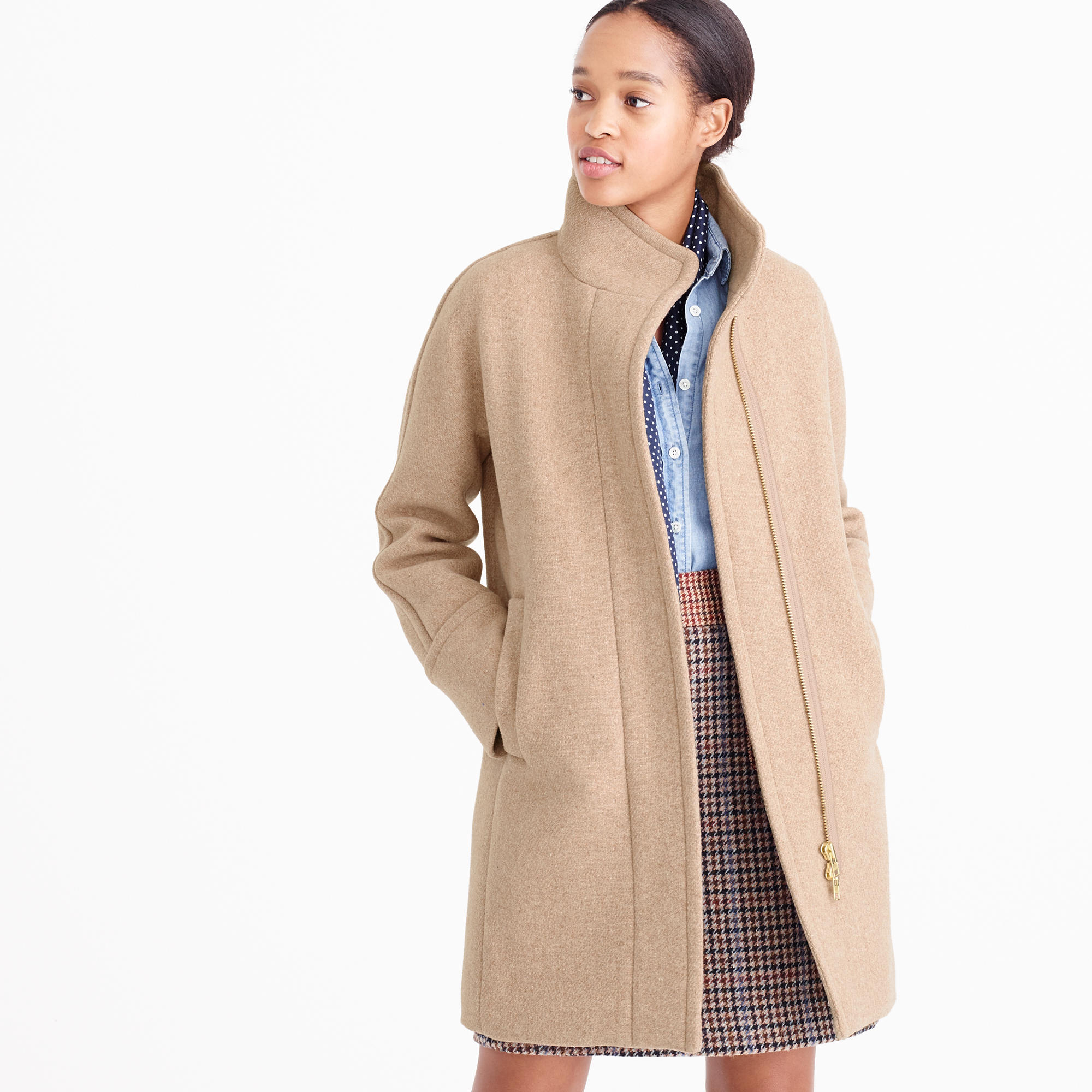 All Women's Coats Should Have Top and Bottom Double ...
