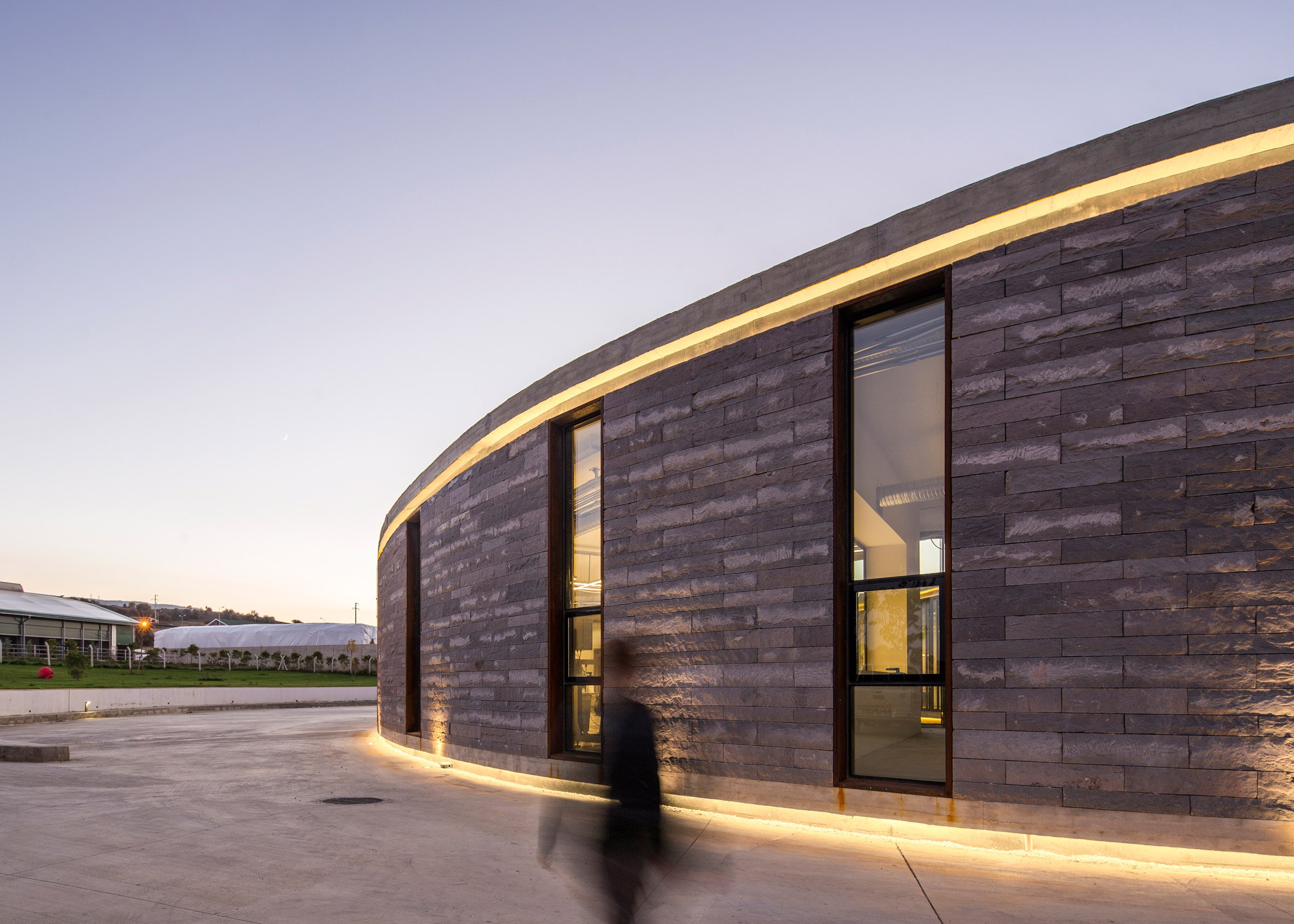 A cheese factory goes high-design in Turkey