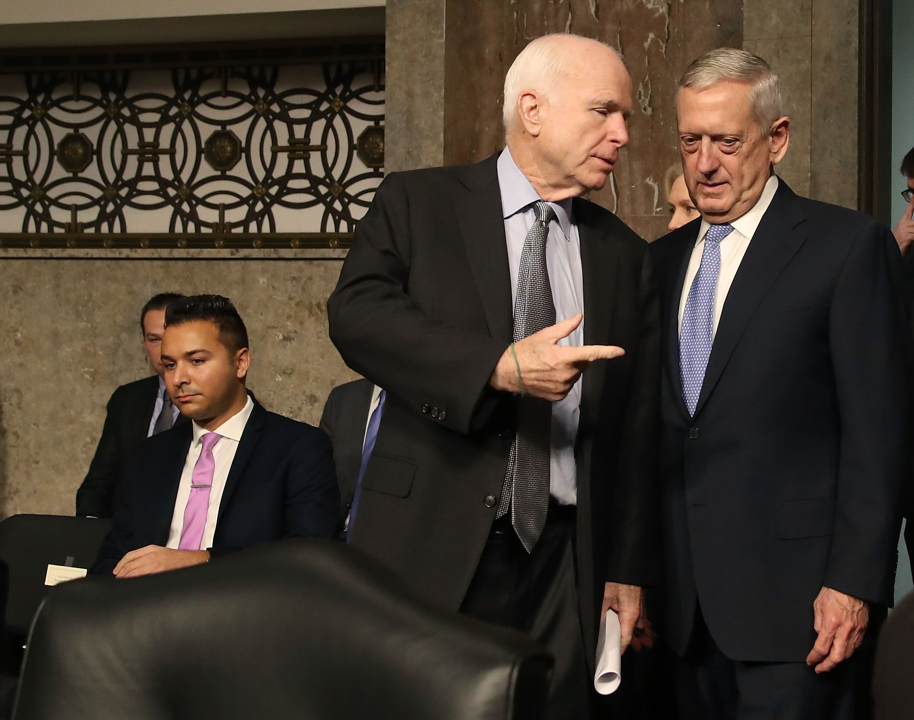 Image result for PHOTOS OF MCCAIN GRAHAM AND GENERAL MATTIS