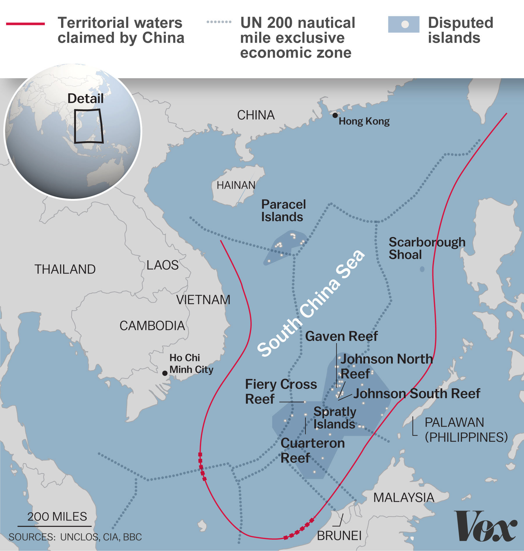 The Us Has Been Sending Us Navy Vessels Through The South China Sea And Ignoring Beijing S Attempts To Control Aire Over Them Both In Defense Of The