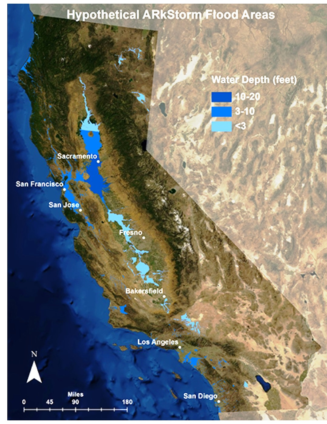 The Other Big One California S Pending Megaflood
