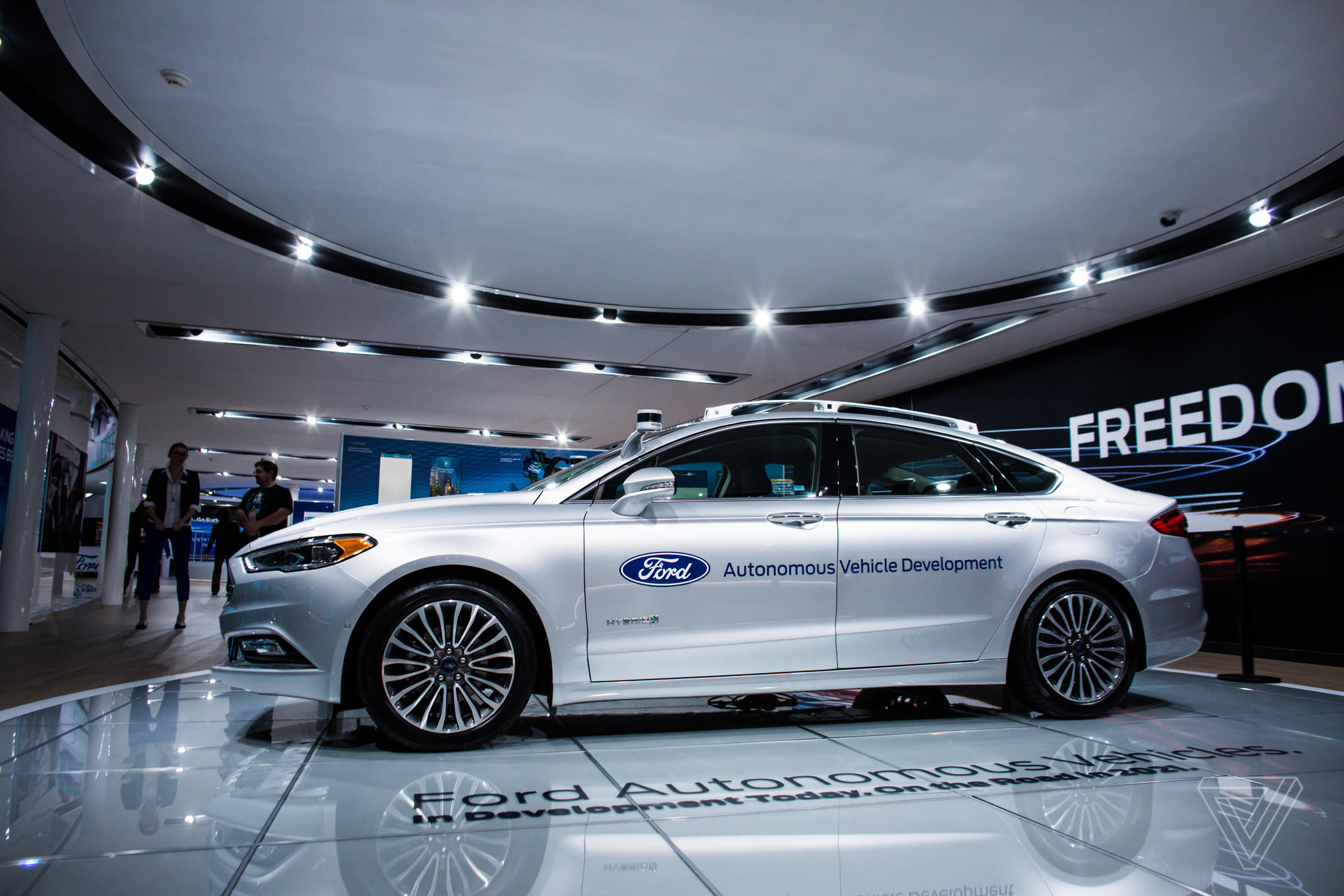 The Detroit Auto Show In Pictures The Verge - Auto ford
