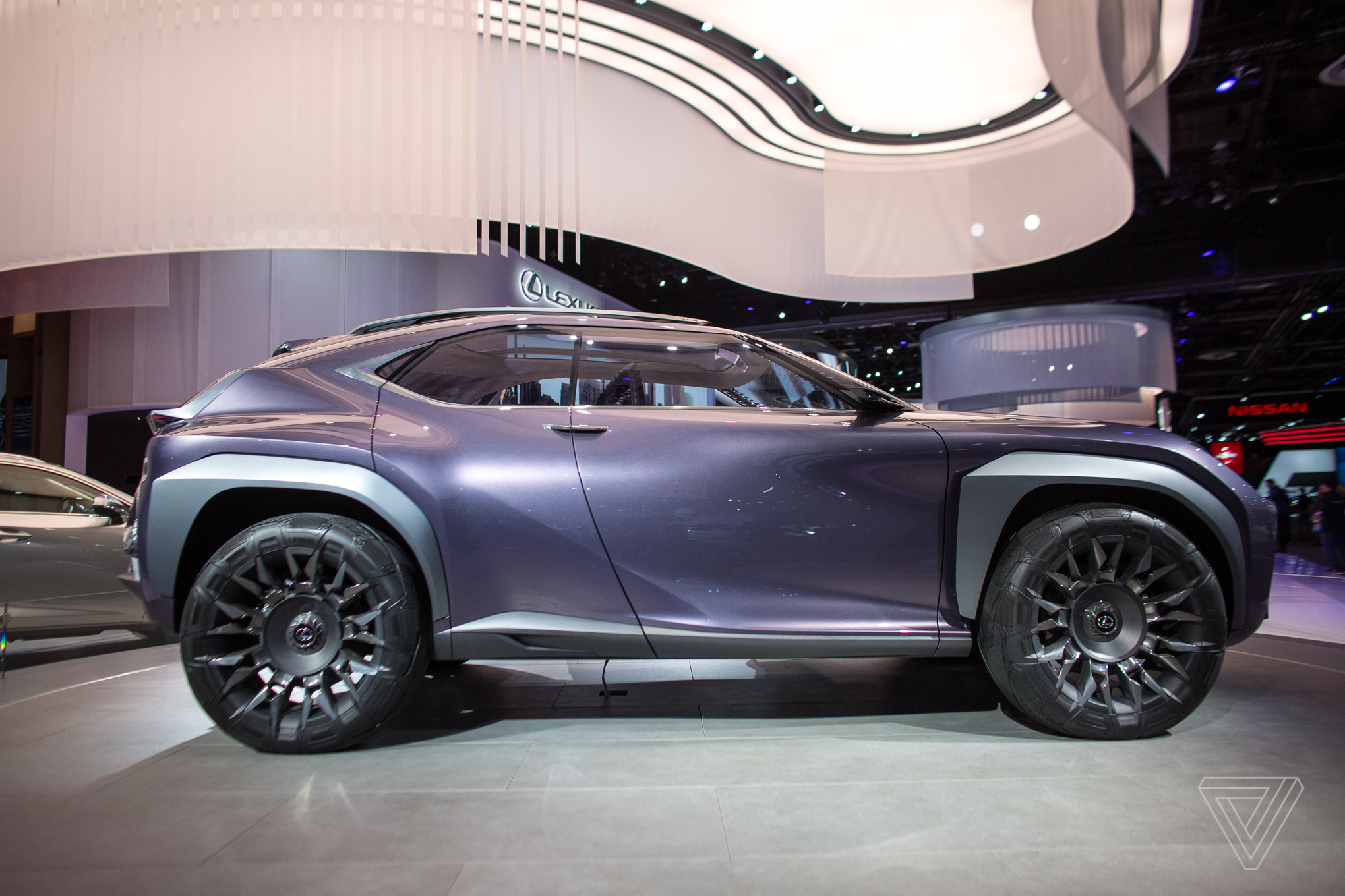 the lexus ux concept looks like it will chew you up and spit you out the verge. Black Bedroom Furniture Sets. Home Design Ideas