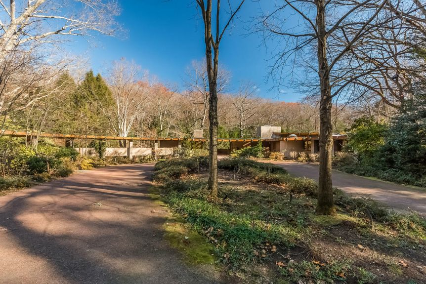 Incredible Frank Lloyd Wright house with 15 acres and waterfall asks $8M