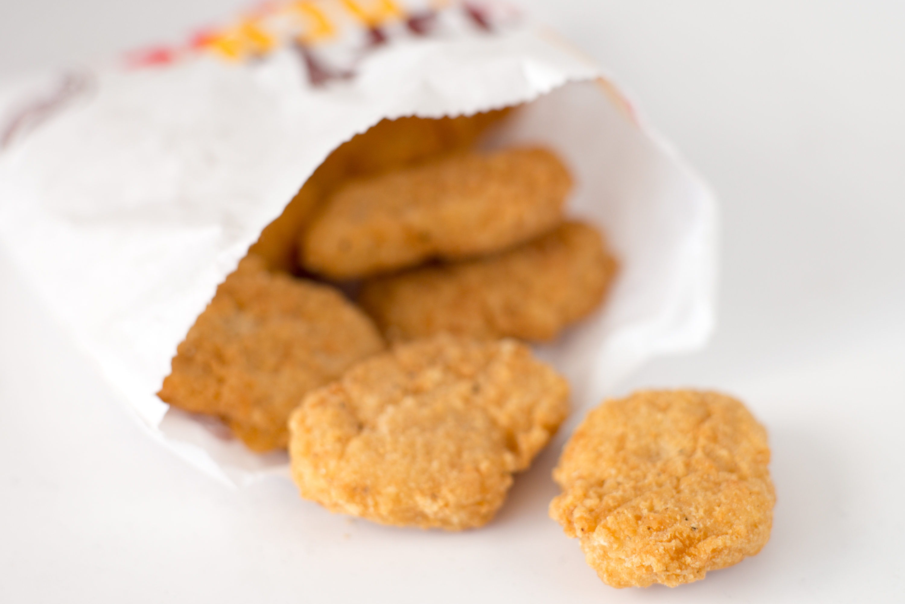 Fast Food With Chicken Nuggets