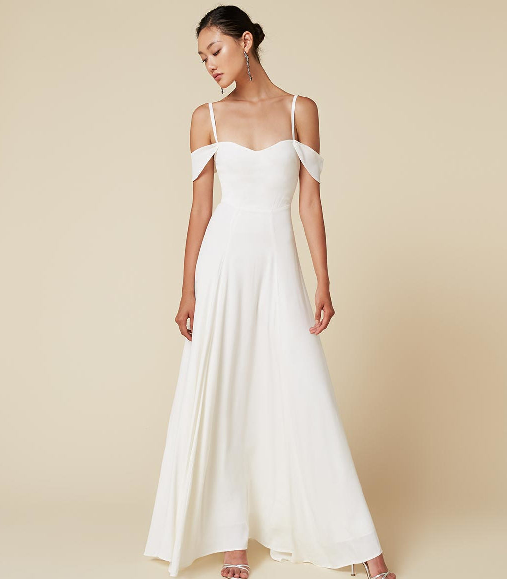 Where to Buy a Wedding Dress Racked