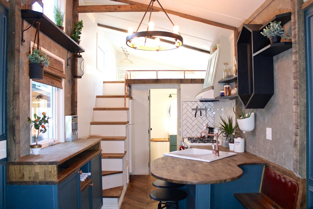 'Craftsman' tiny house goes big on details