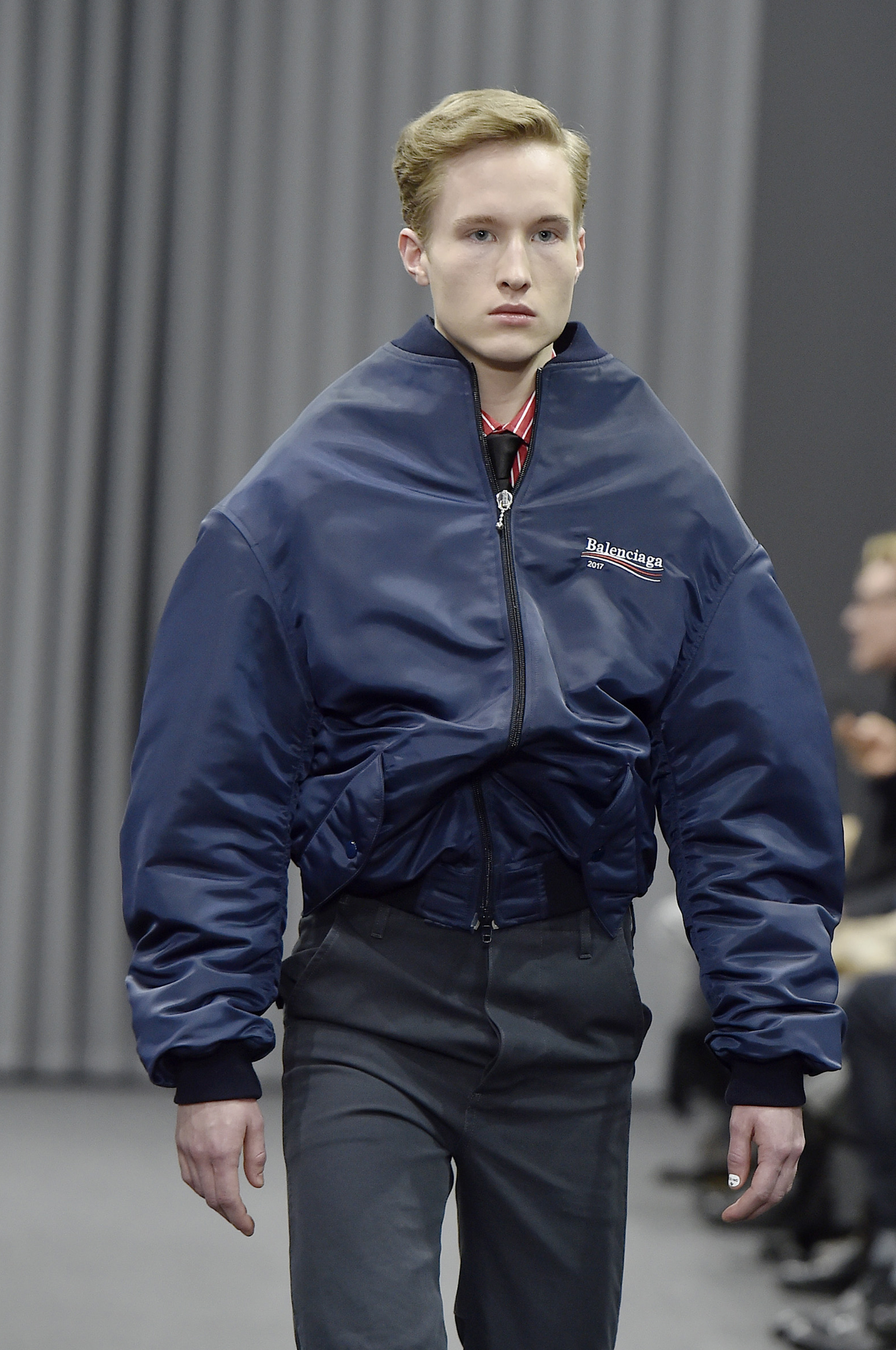 Balenciaga Pays Tribute to Bernie Sanders on the Runway ...