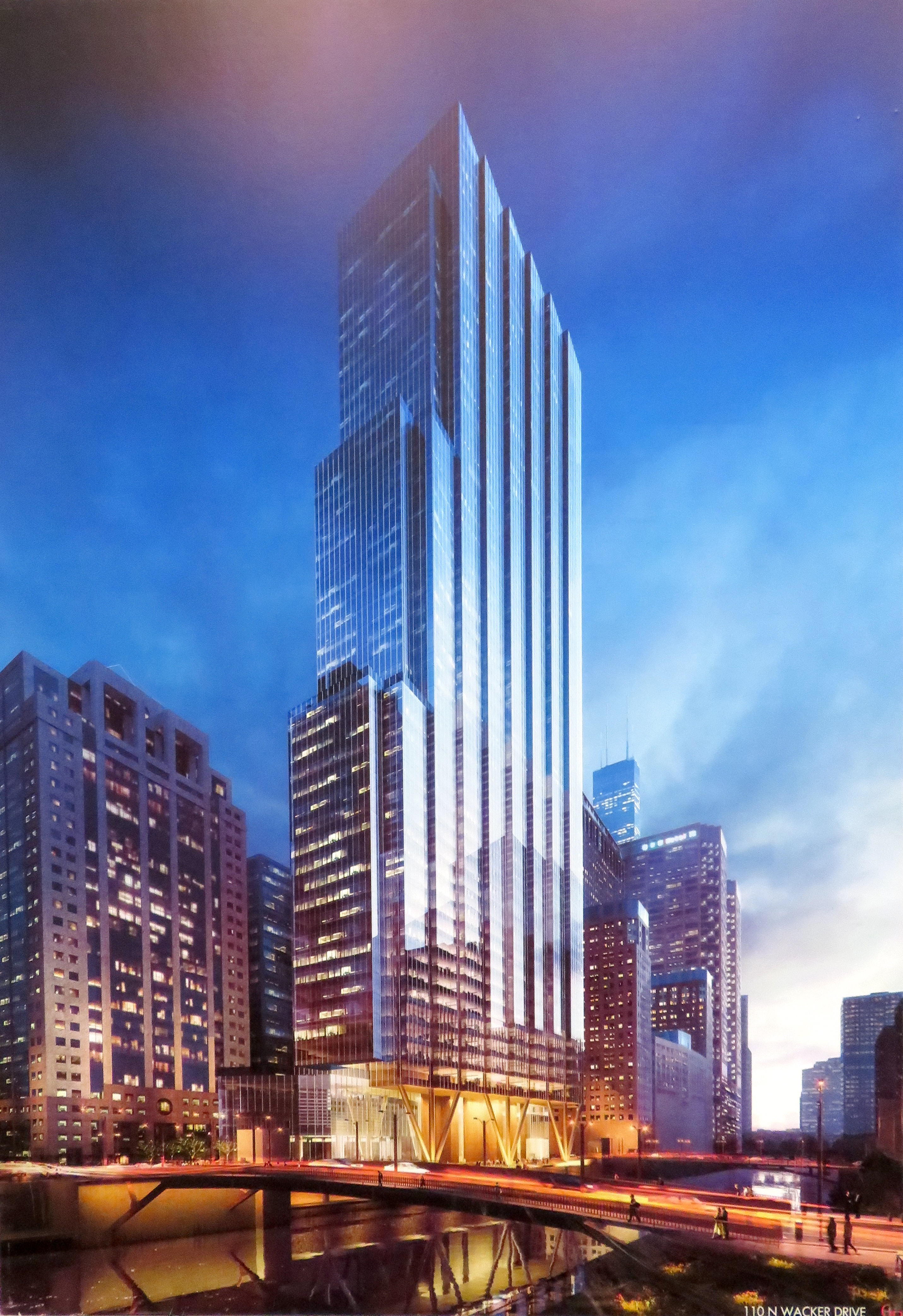 800-foot riverfront tower proposed to replace Chicago's ...