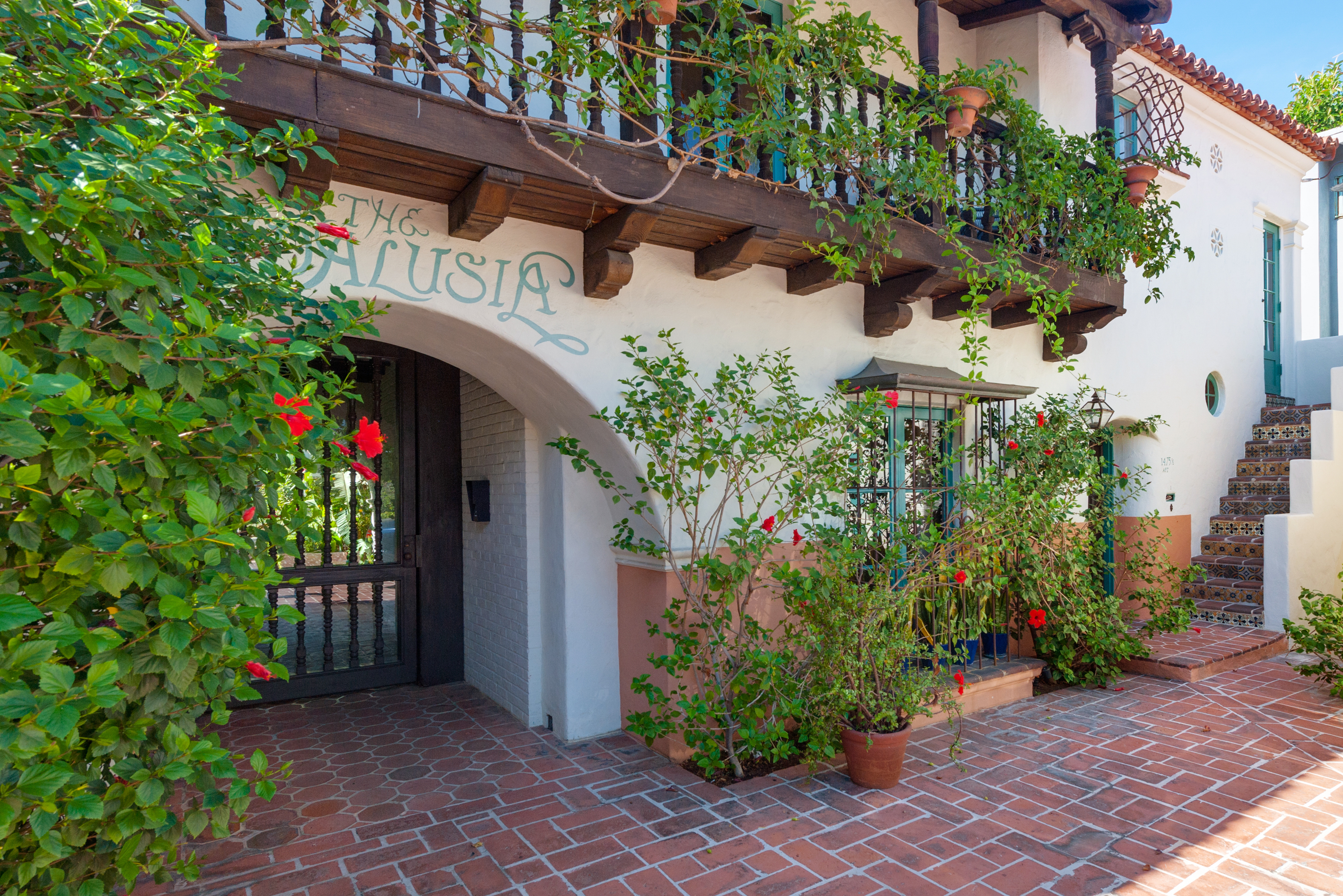 For a condo in historic spanish revival courtyard for Spanish style fountains for sale
