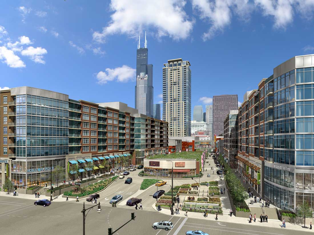Apartment High Rise For South Loop Retail Center Looks To