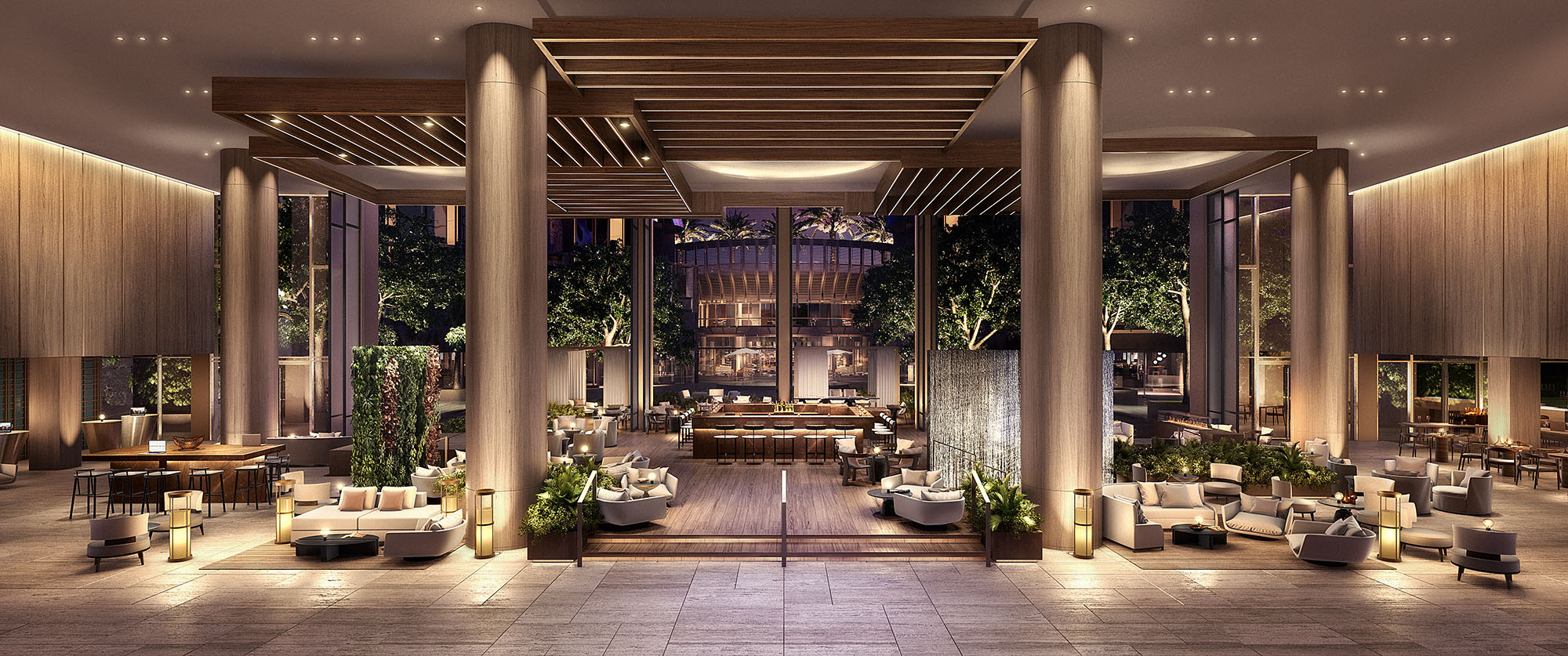 New Renderings Of Glitzy Century Plaza Hotel And