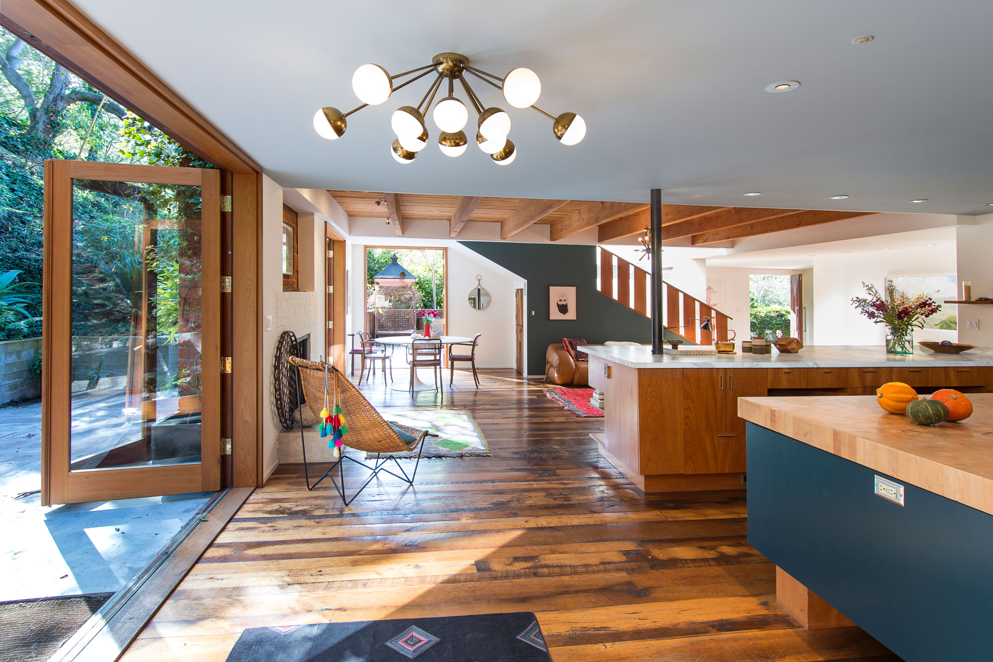 Shingled Rustic Canyon House With Frank Gehry Touch Asks $6.5M