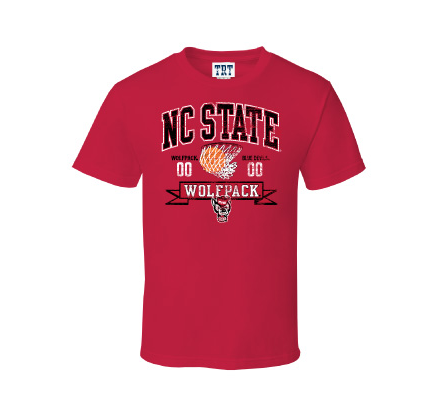 Nc state made t shirts for beating duke who was ranked for Nc state basketball shirt