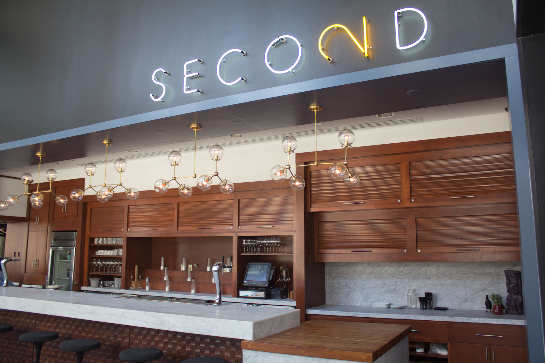 take a look inside second bar + kitchen's downtown expansion