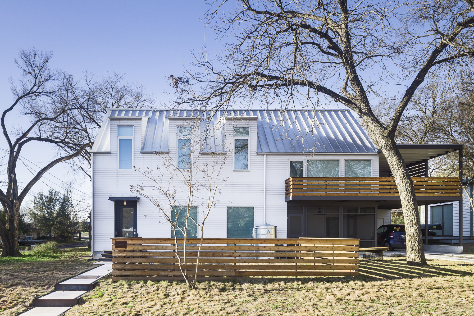 In Central Austin A Modern Home Merges Brains And Beauty