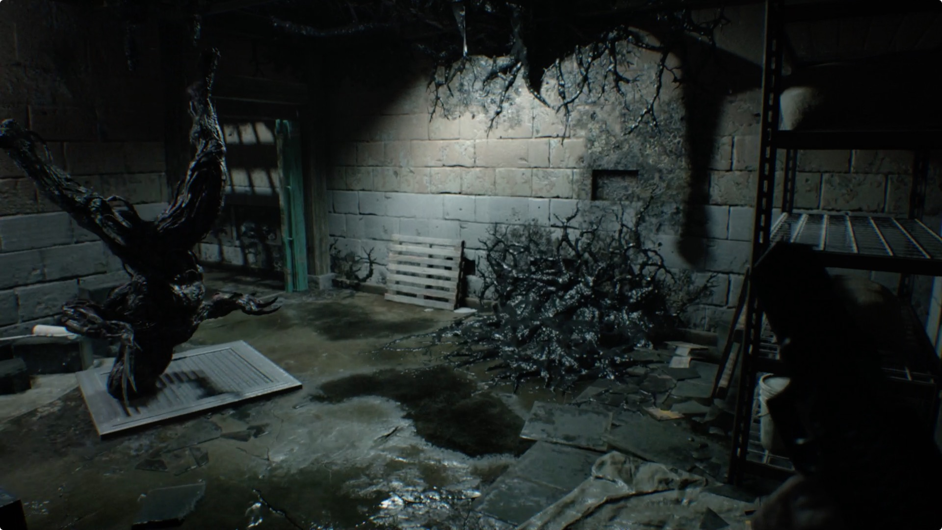 Resident evil 7 guide and walkthrough 2 3 jack s back and for Down to the floor