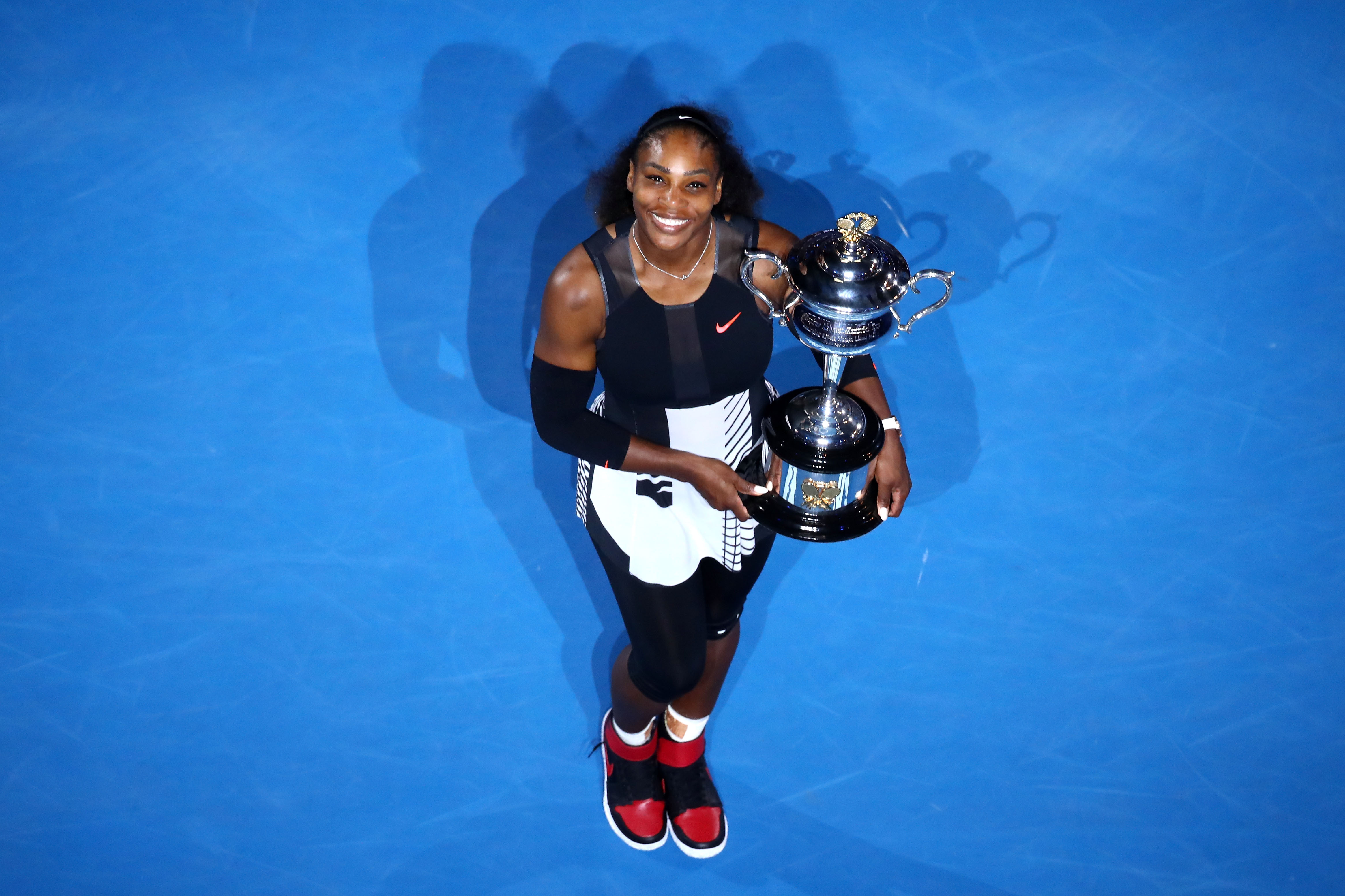 Michael Jordan surprised Serena Williams with custom 23 Grand Slam Jordans