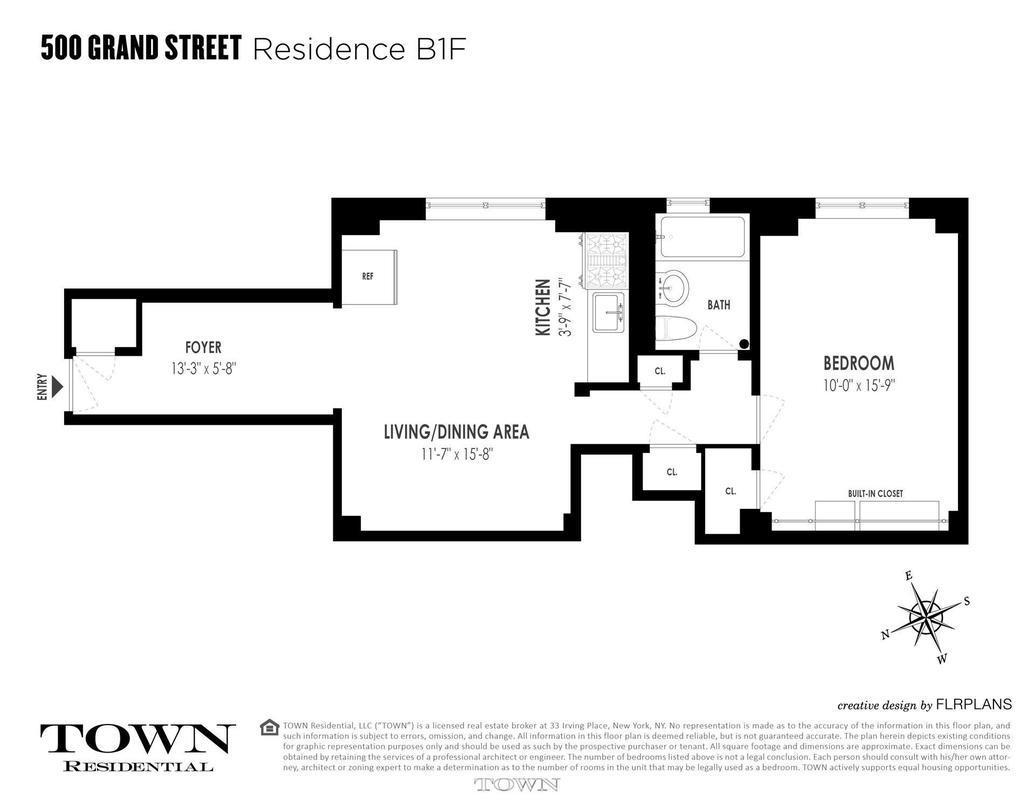 One57 Floor Plan Lower East Side Co Op With Generous Storage Space Asks