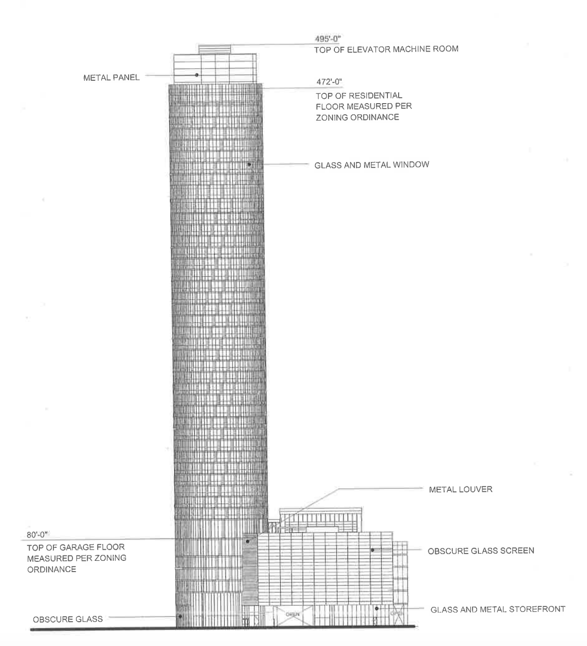 500-foot apartment tower headed to chicago's greektown - curbed