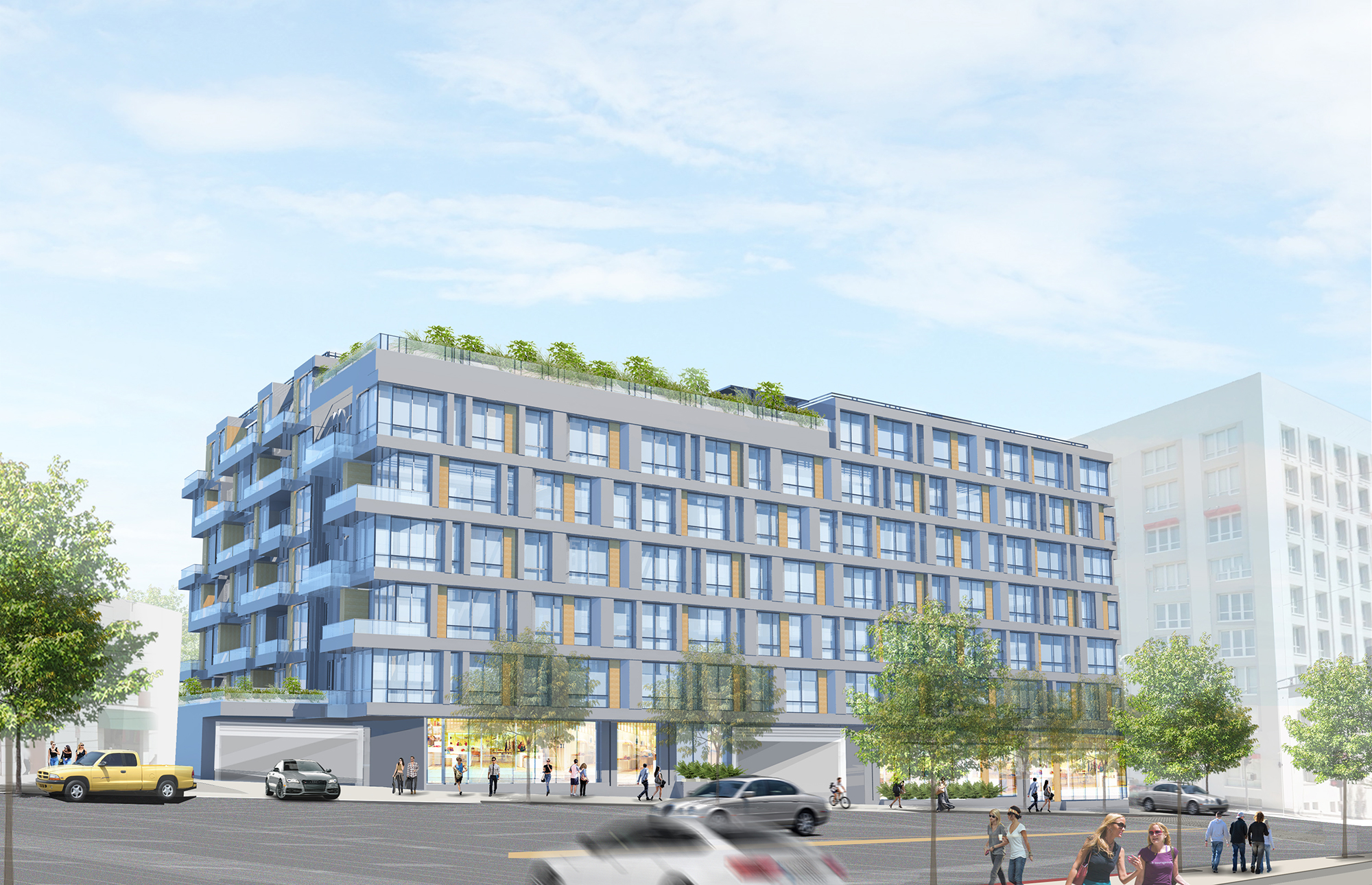 First Look At Chinatown Mixed Use Project Curbed La