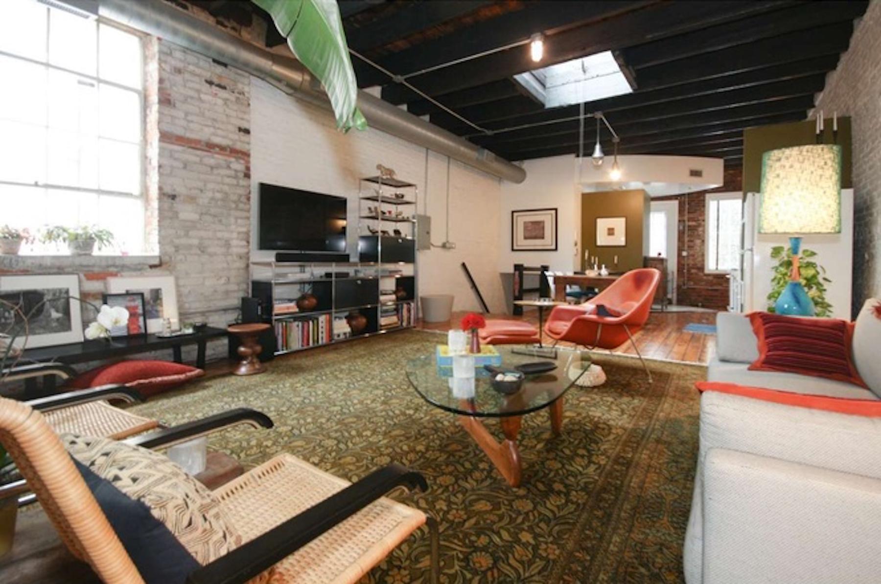 Cool bella vista loft above garage asks 619k curbed philly for Garage with loft for sale